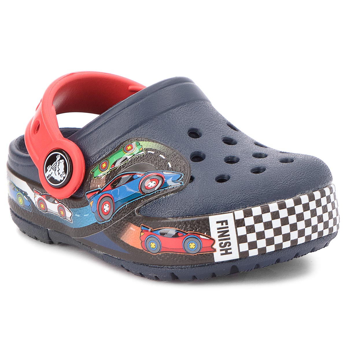 09414b9bfc4 Σανδάλια CROCS - Crocband Fun Lab Lights Clg K 204984 Navy - Glami.gr
