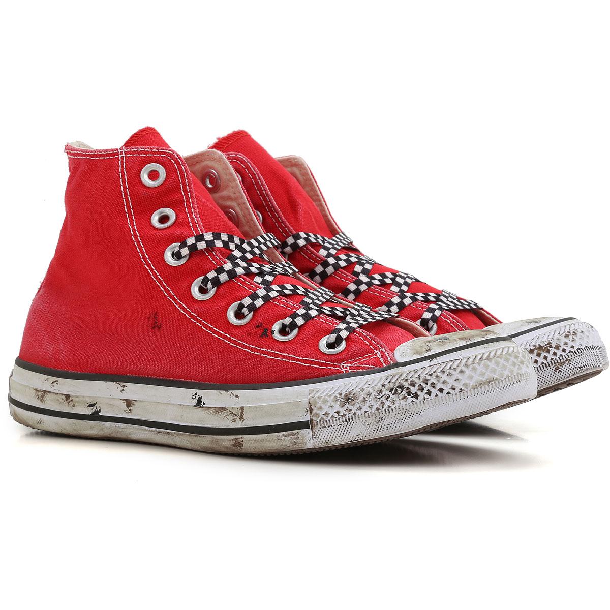 a6223b2ecde Converse Αθλητικά Παπούτσια για Γυναίκες Σε Έκπτωση, Limited Edition,  Κόκκινο, Καραβόπανο, 2019, ...