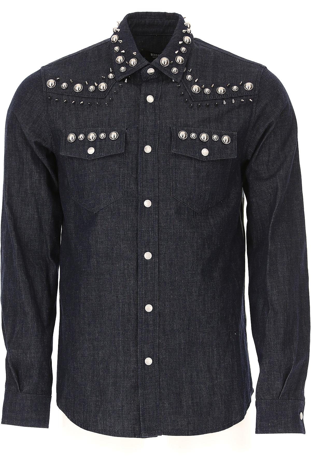 e1ed40483d50 Versace Πουκάμισο για Άνδρες Σε Έκπτωση Στο Outlet