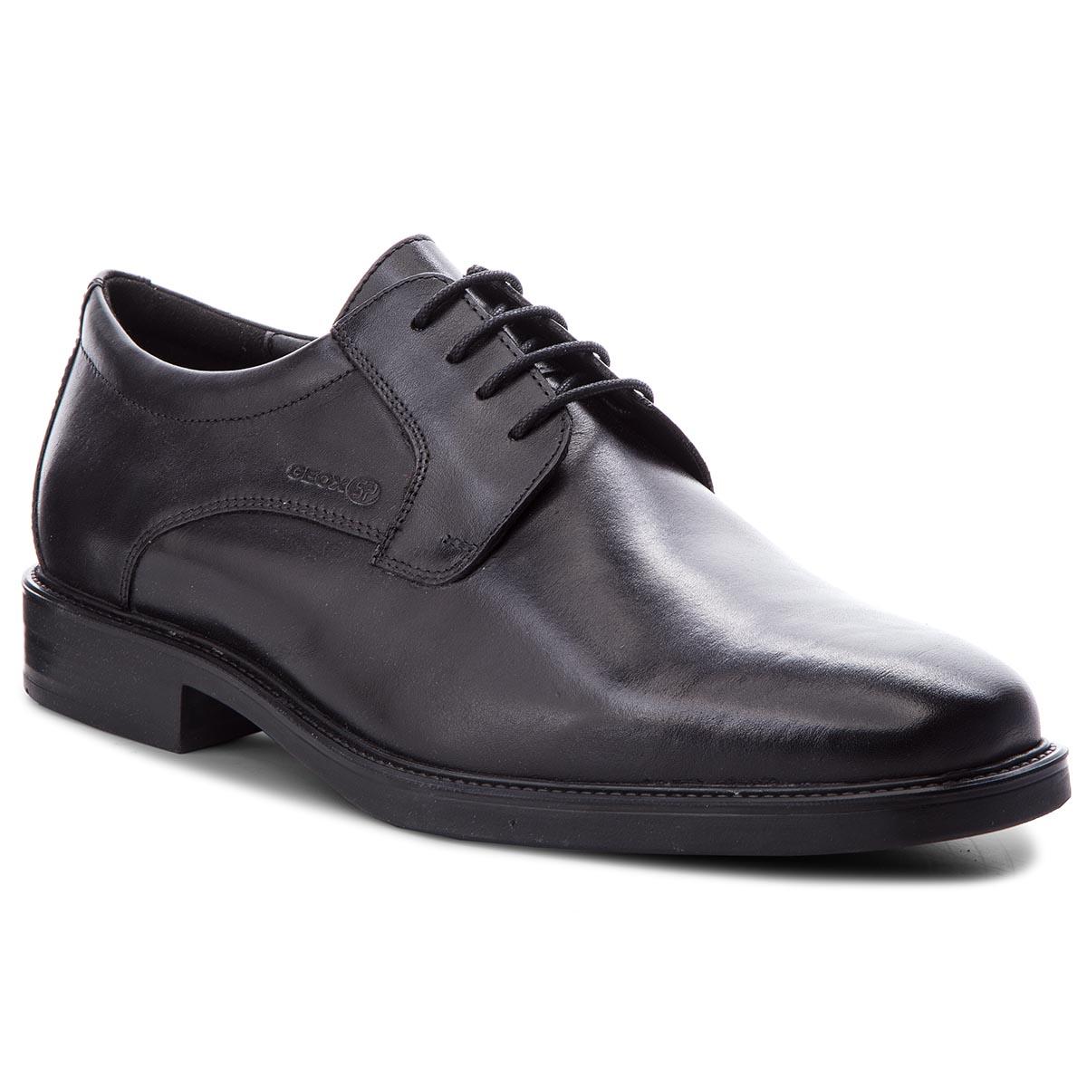 2561c761e08 Κλειστά παπούτσια GEOX - U Brandolf C U844VC 00043 C9999 Black ...