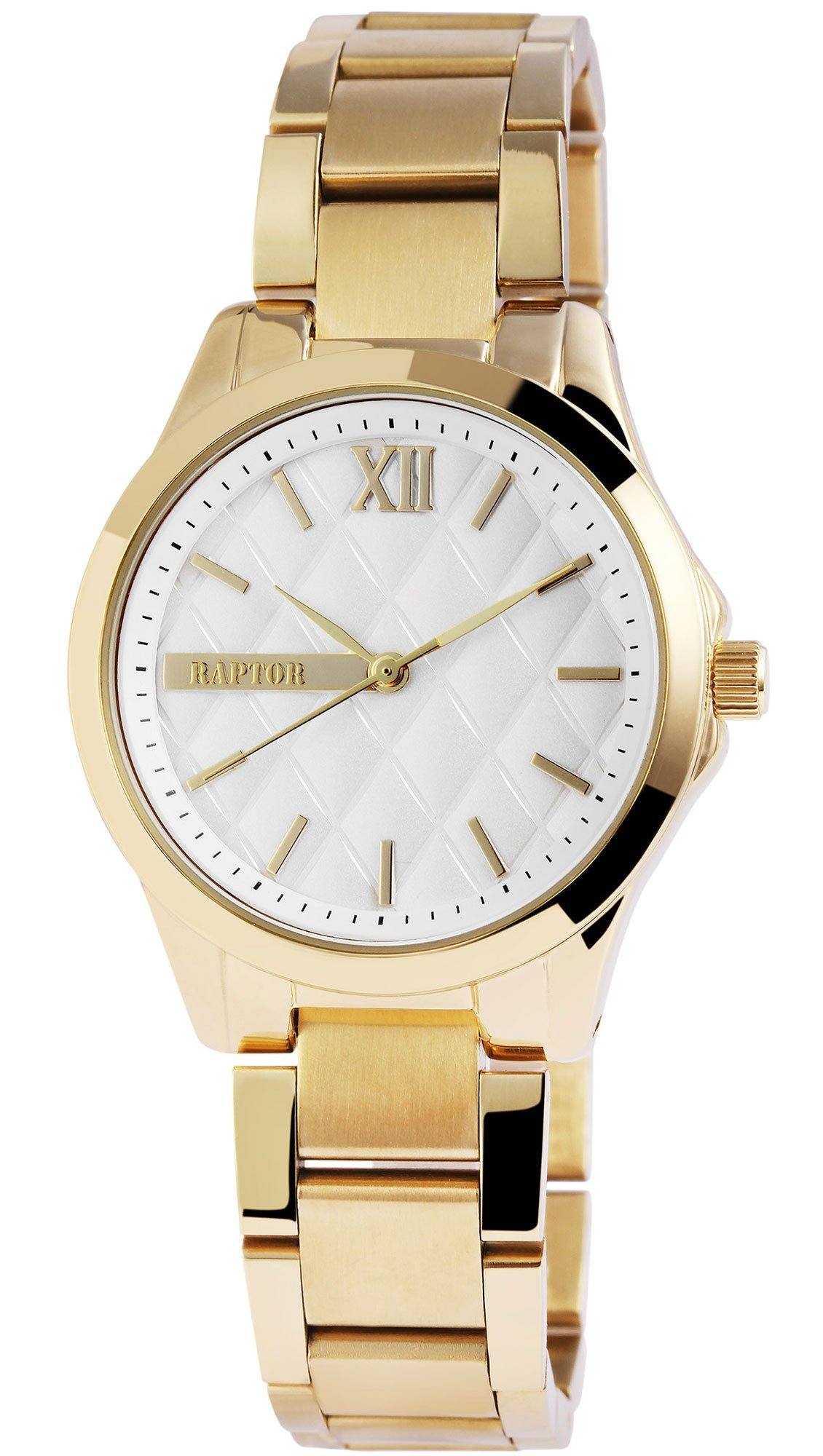 Ρολόι Raptor με χρυσό μπρασελέ 197602500028 - Glami.gr 75d2070f6b8