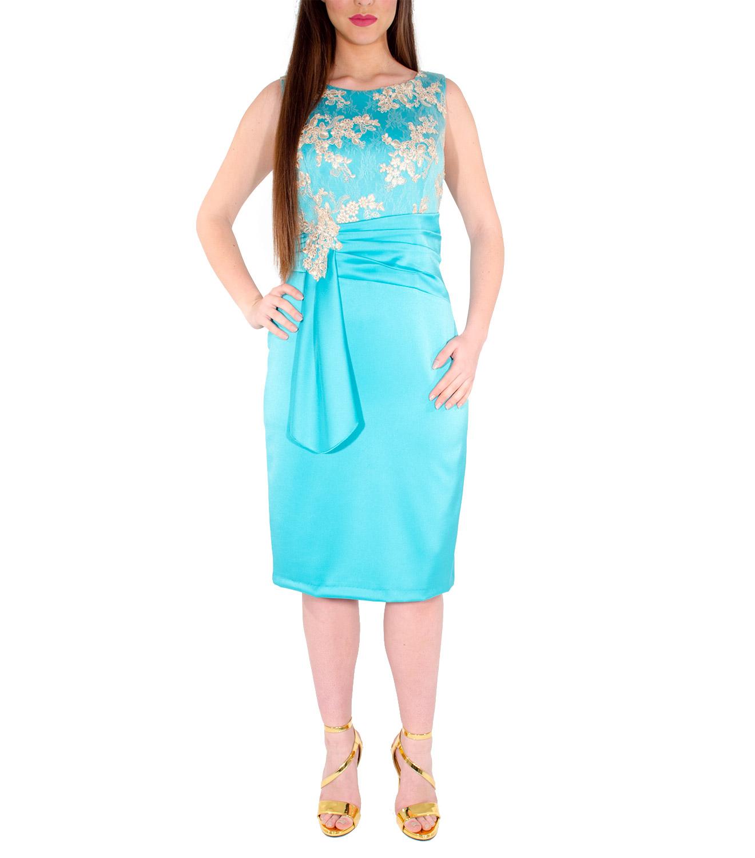 RAVE Αμπιγιέ Midi Φόρεμα με μπούστο δαντέλας - Glami.gr 6100d0baf12