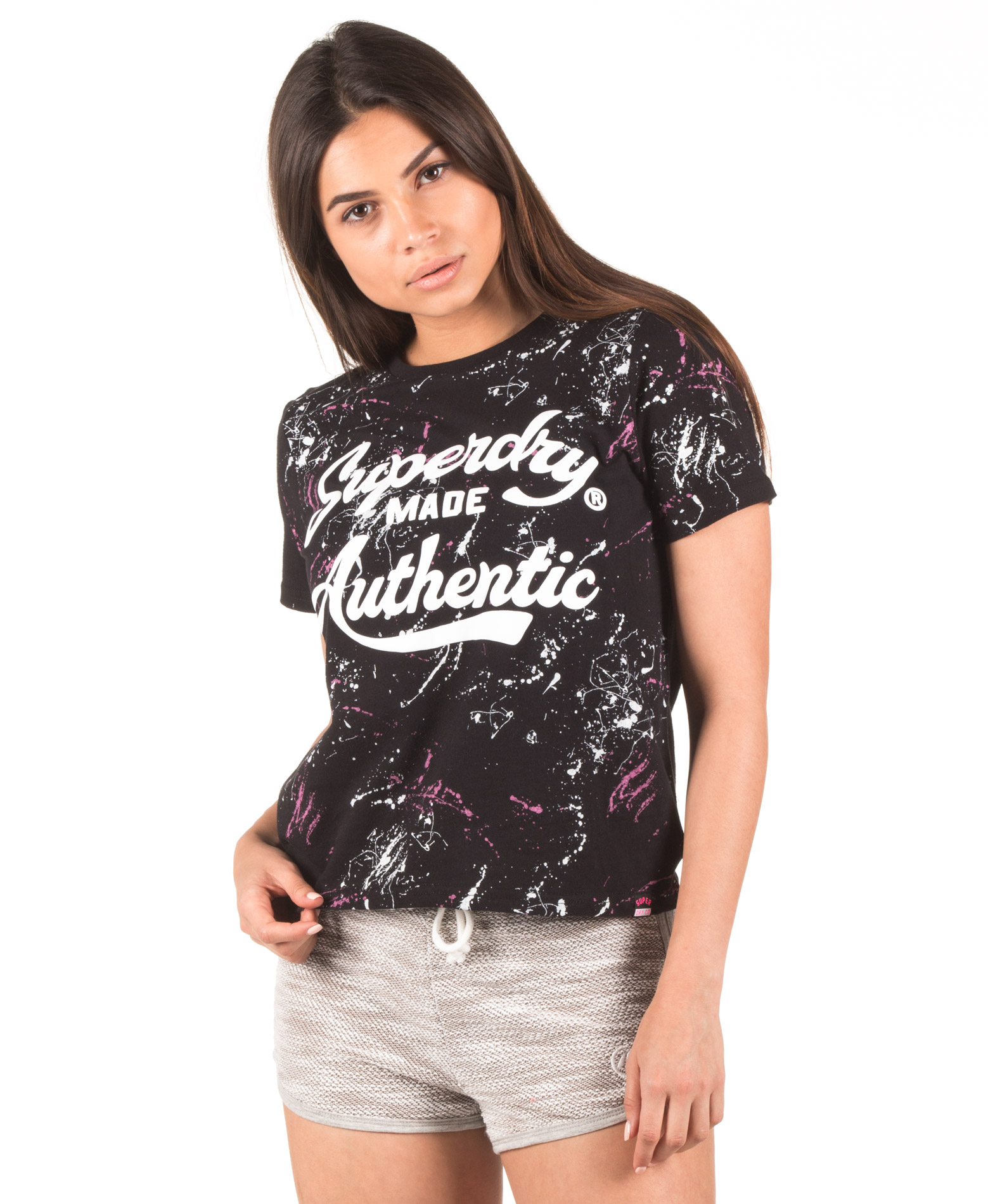 bb8dae9376dd SUPERDRY D2 MADE AUTHENTIC AOP BOXY TEE G10003SQ-MO2 Μαύρο - Glami.gr