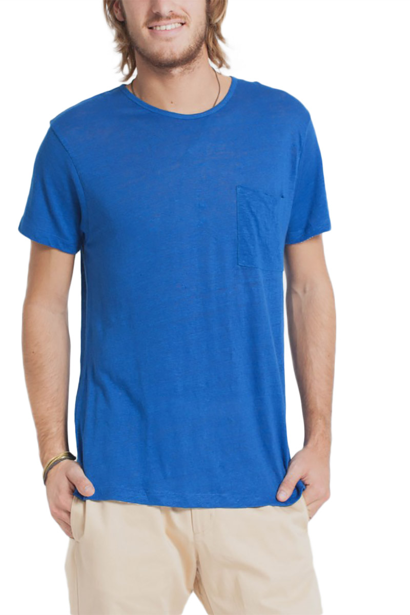 35149d725ced Thinking Mu Hemp t-shirt μπλε ρουά - Glami.gr
