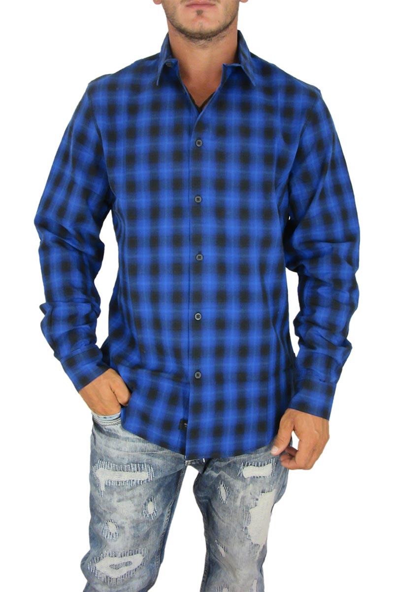 a3202fe26d7f Globe ανδρικό καρό πουκάμισο Stokes μπλε ρουά. Globe ανδρικό καρό πουκάμισο  Stokes μπλε ρουά. Globe ανδρικό καρό πουκάμισο ...