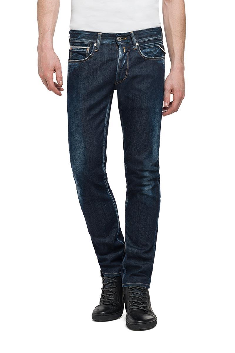 cd7b6e0b5de Replay Ronas slim-fit jeans σκούρο μπλε