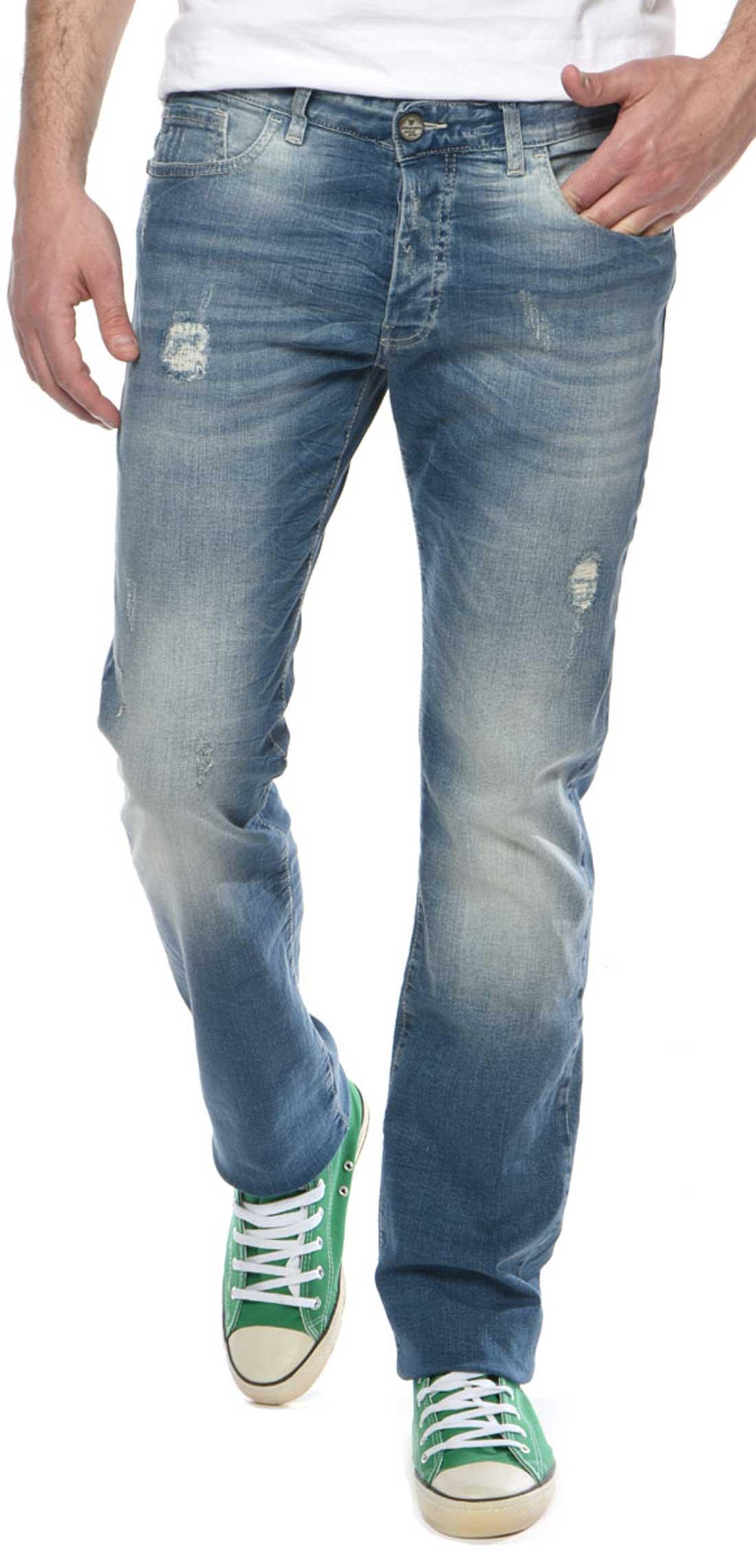 3d7c6624002c Brokers - 18017-205-32 - Blue - παντελόνι Jean - Glami.gr