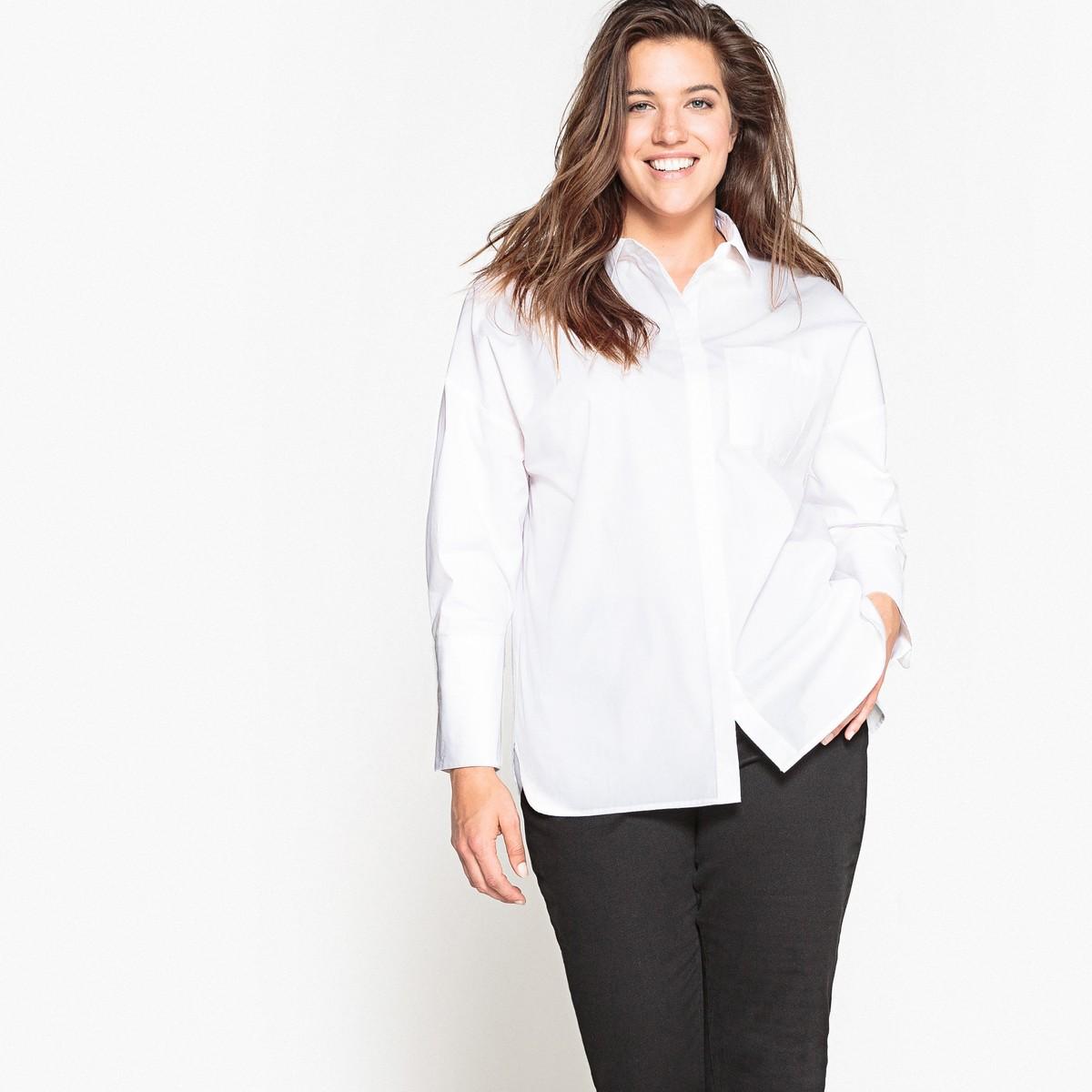 bc7ef9671862 CASTALUNA Μονόχρωμο πουκάμισο με τσέπη - Glami.gr