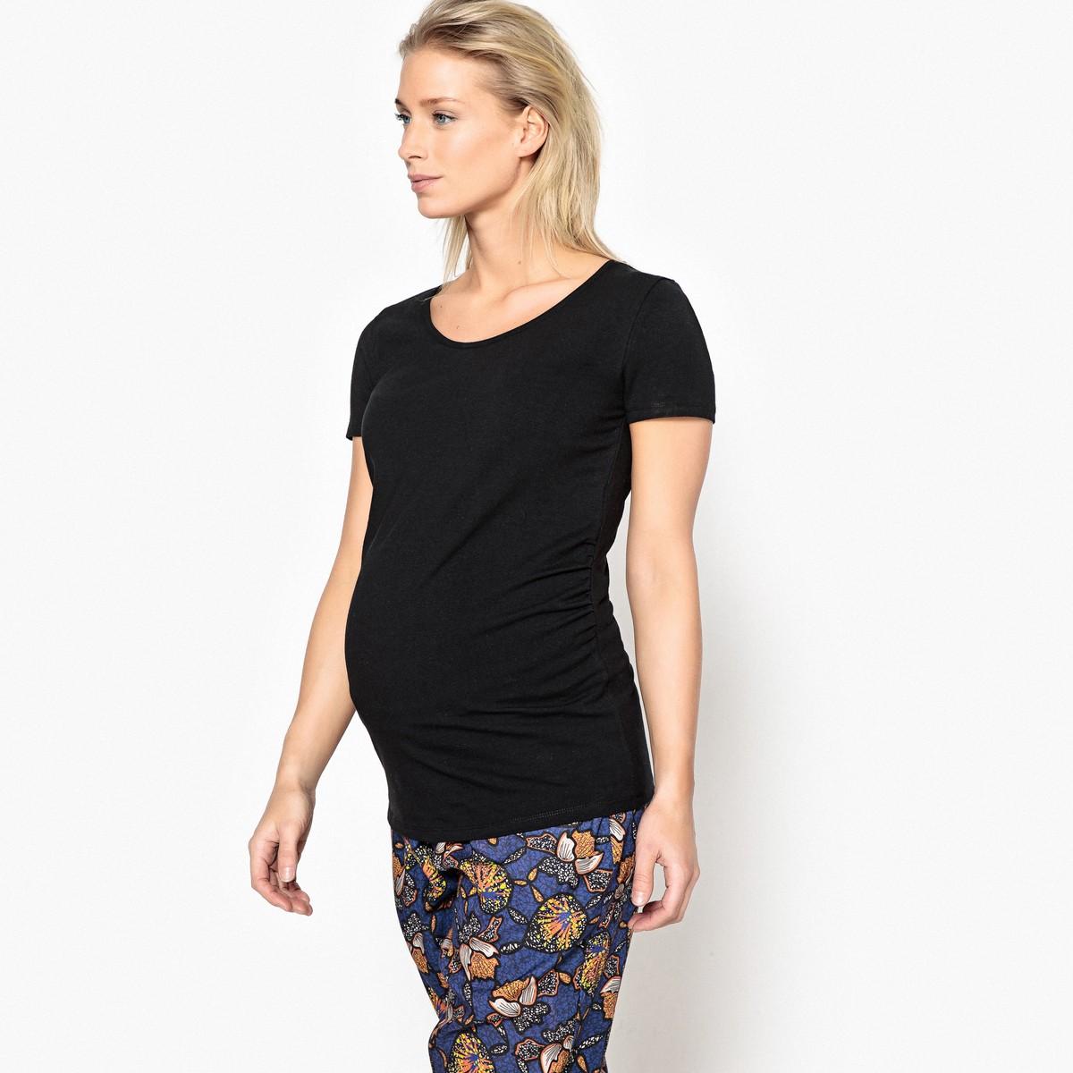 140d021df4d LA REDOUTE COLLECTIONS Κοντομάνικη μπλούζα εγκυμοσύνης