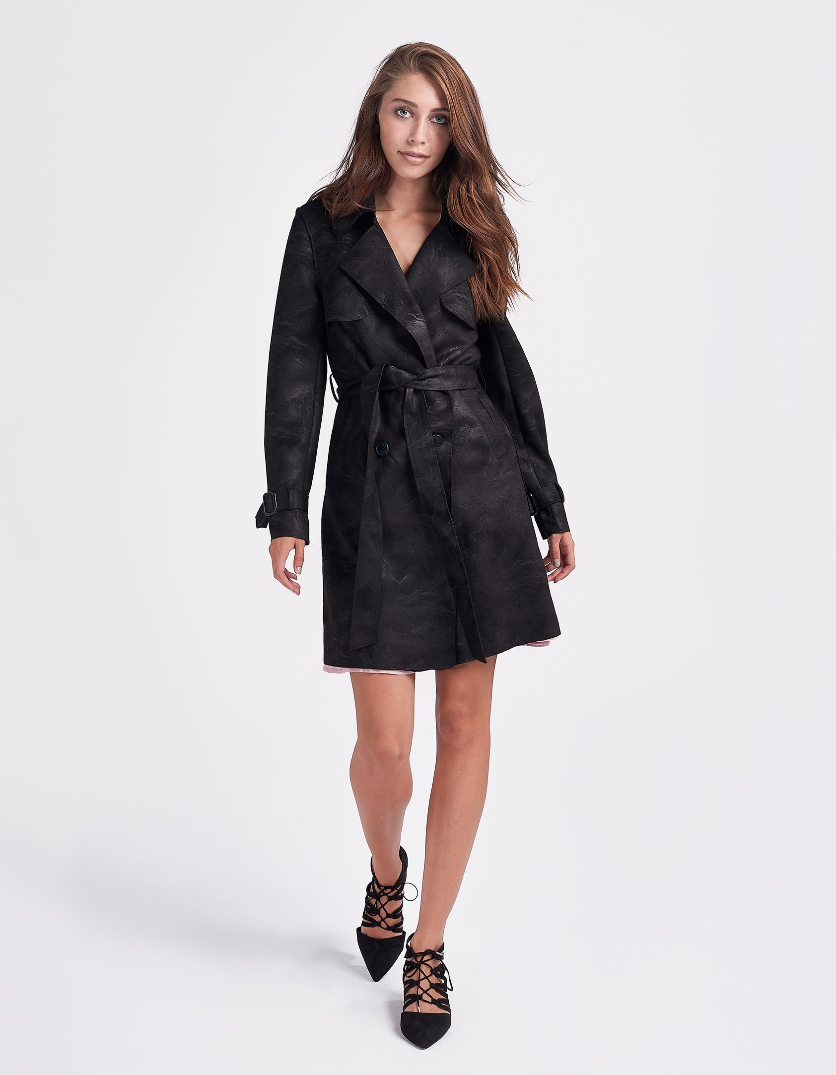 Issue Fashion Καπαρντίνα με ζώνη στη μέση - Glami.gr e7bd877c141