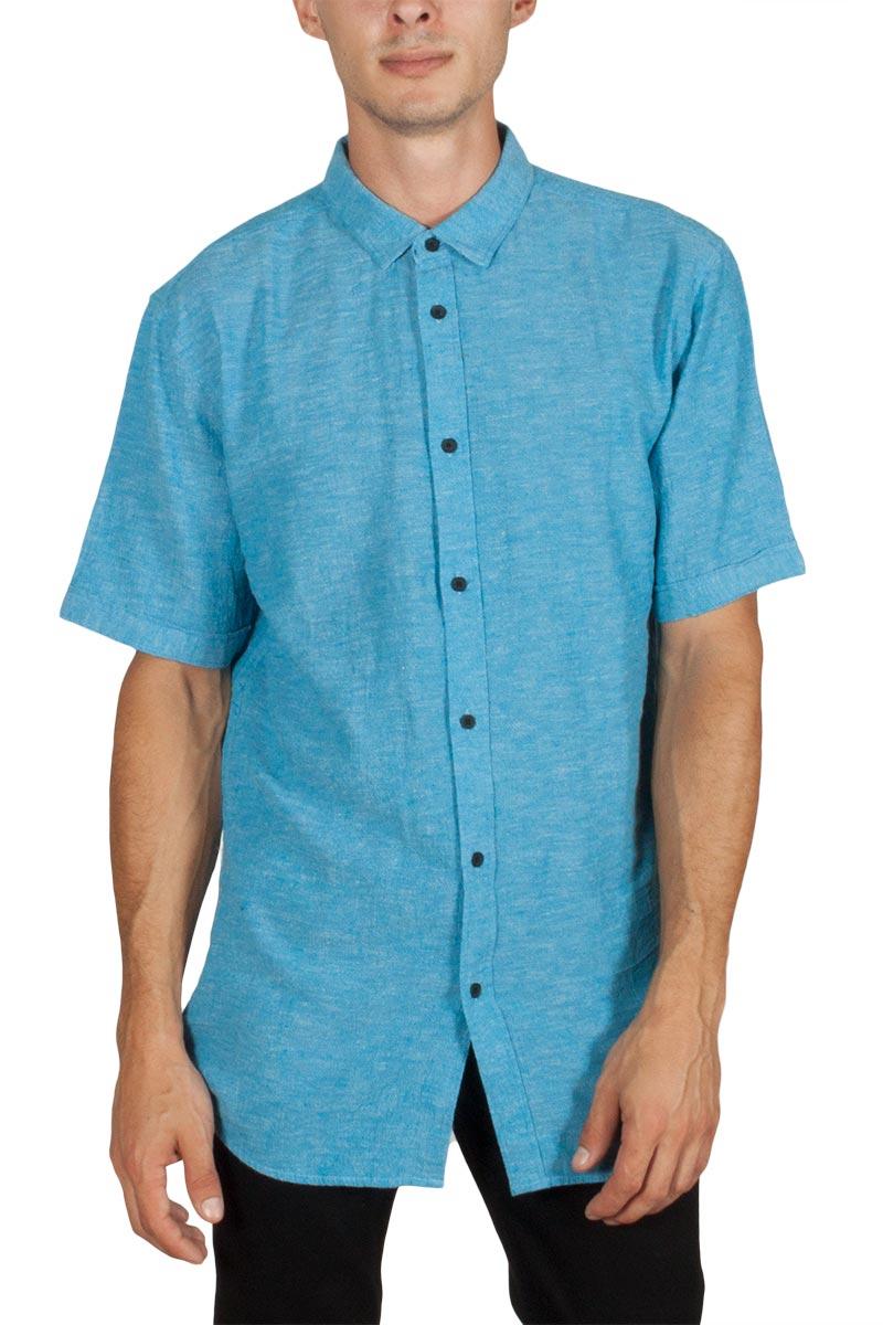 e001bb1e4655 Anerkjendt Kevin κοντομάνικο πουκάμισο τυρκουάζ - Glami.gr