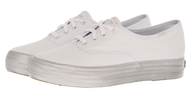 Keds Γυναικεία Παπούτσια Casual WF58035 Άσπρο Πάνινο - Glami.gr b5fd20a7da7