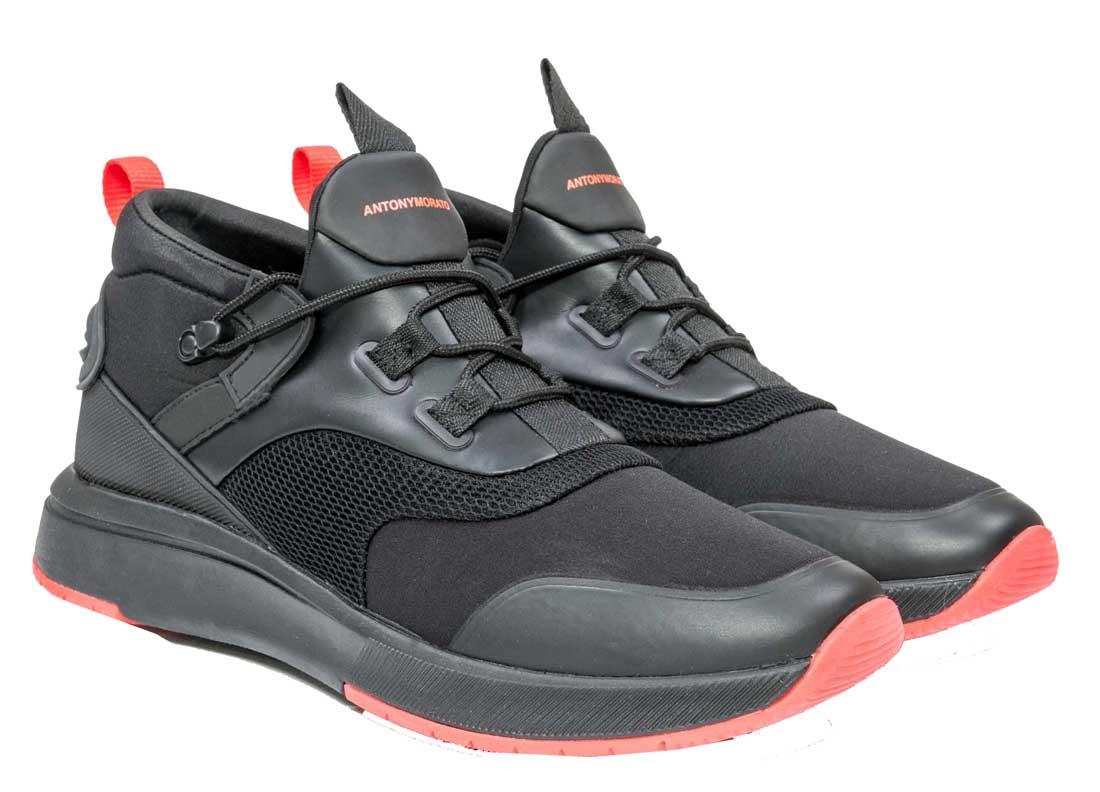f6aac45cdb9 Antony Morato - MMFW00992-LE500034-9000 - Scarpe - Black - Παπούτσια ...