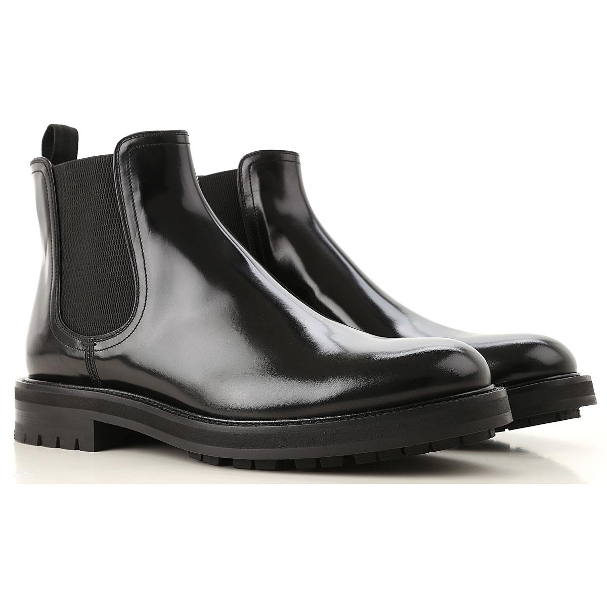 2e41a0fc8e3 Dolce & Gabbana Chelsea Μπότες για Άνδρες Σε Έκπτωση, Μαύρο, Δέρμα ...