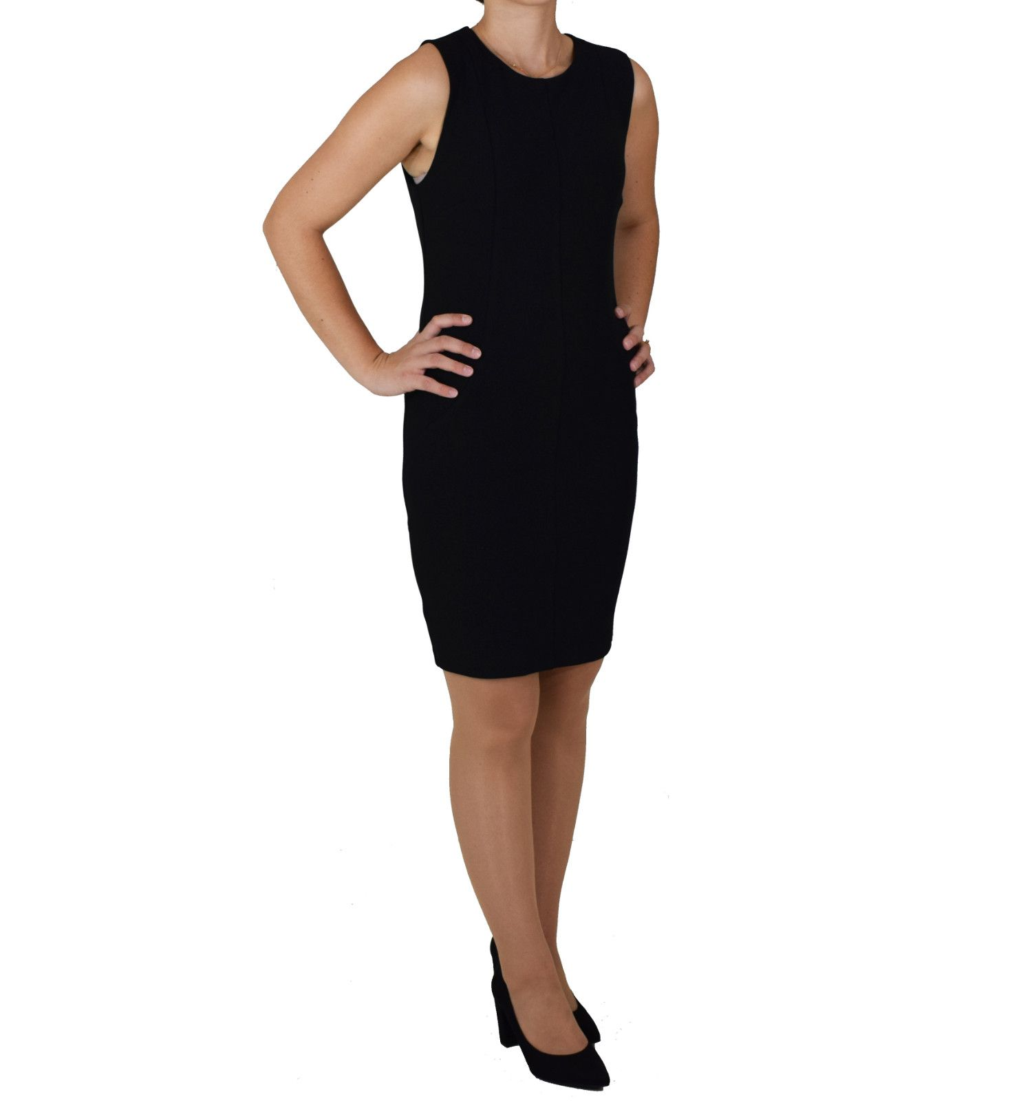 13161a3b1bbd Μίντι Εφαρμοστό Φόρεμα Toi   Moi 50-3664-28 Μαύρο toimoi 50-3664-28 ...