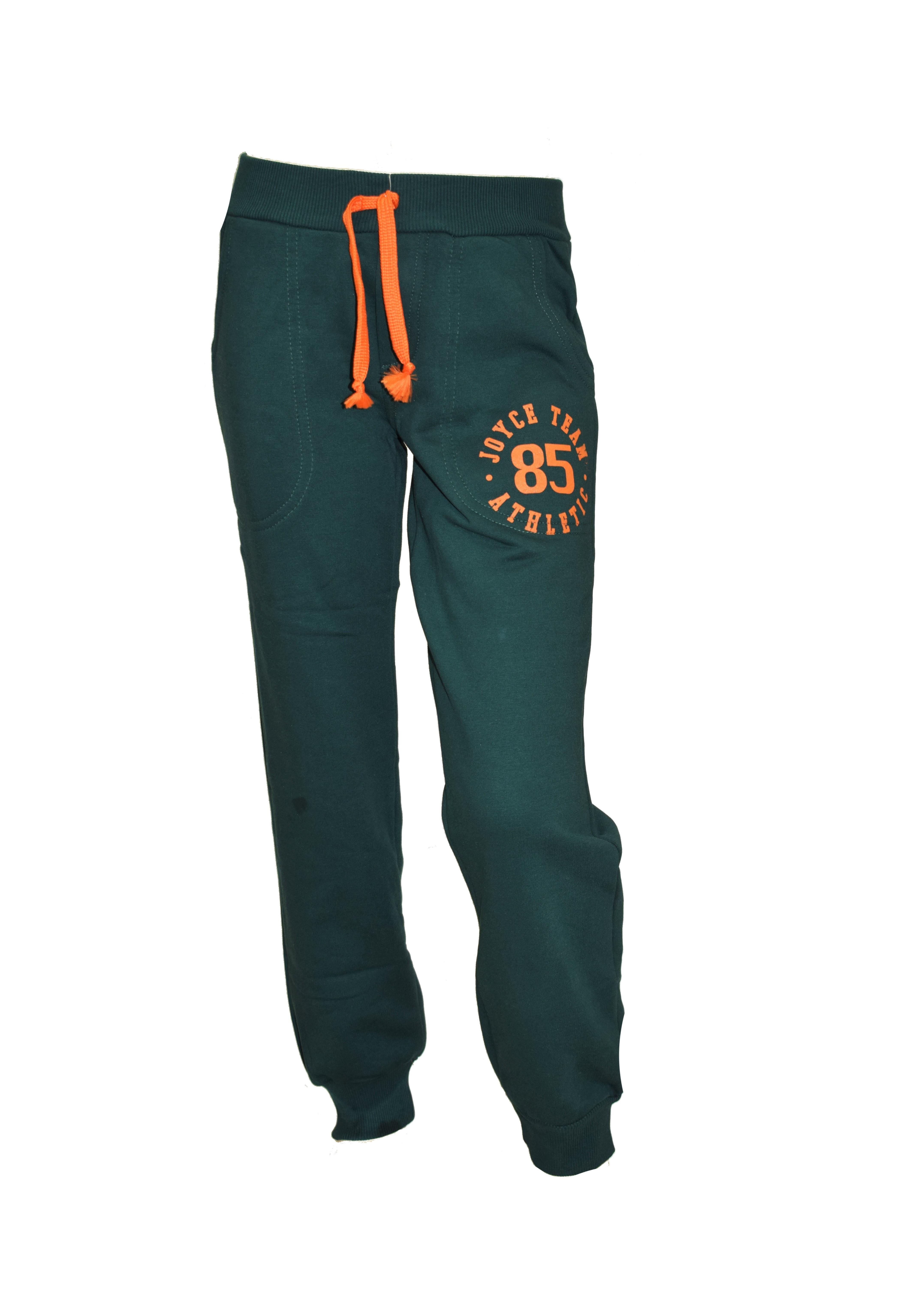 f90e4a667dd Παντελόνι φόρμας Joyce 6722 - πράσινο Boy 4-16 years - Glami.gr