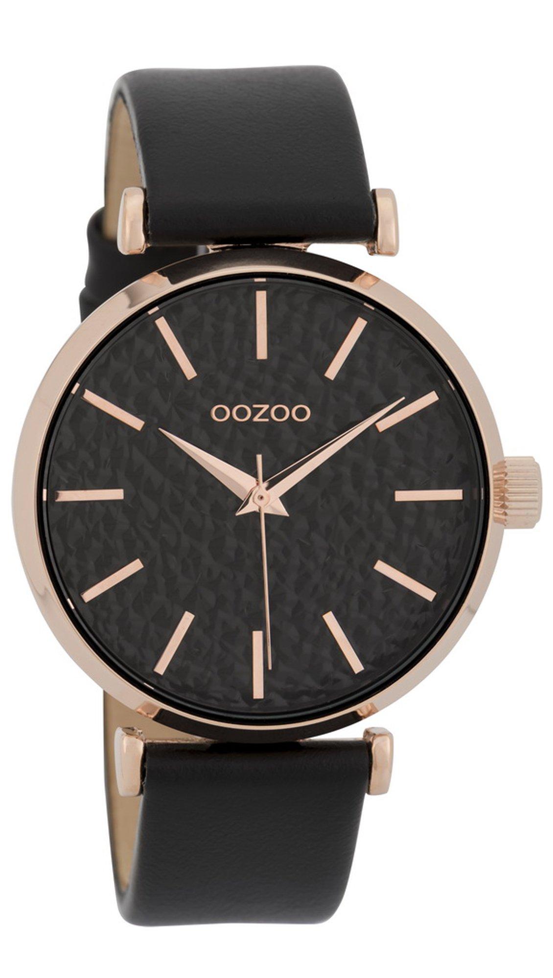 Ρολόι OOZOO Timepieces με μαύρο λουράκι και καντράν C9669 - Glami.gr c61cc349ff2