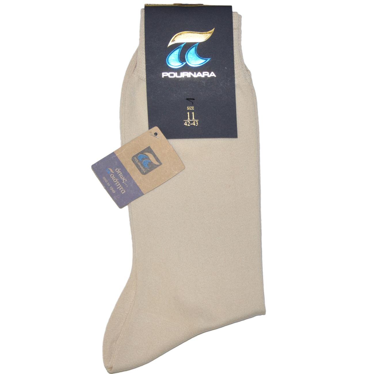 ΠΟΥΡΝΑΡΑ Πουρνάρα Ανδρικές Κάλτσες Βαμβακερές Εκρού - Glami.gr 4a3e75ad02e