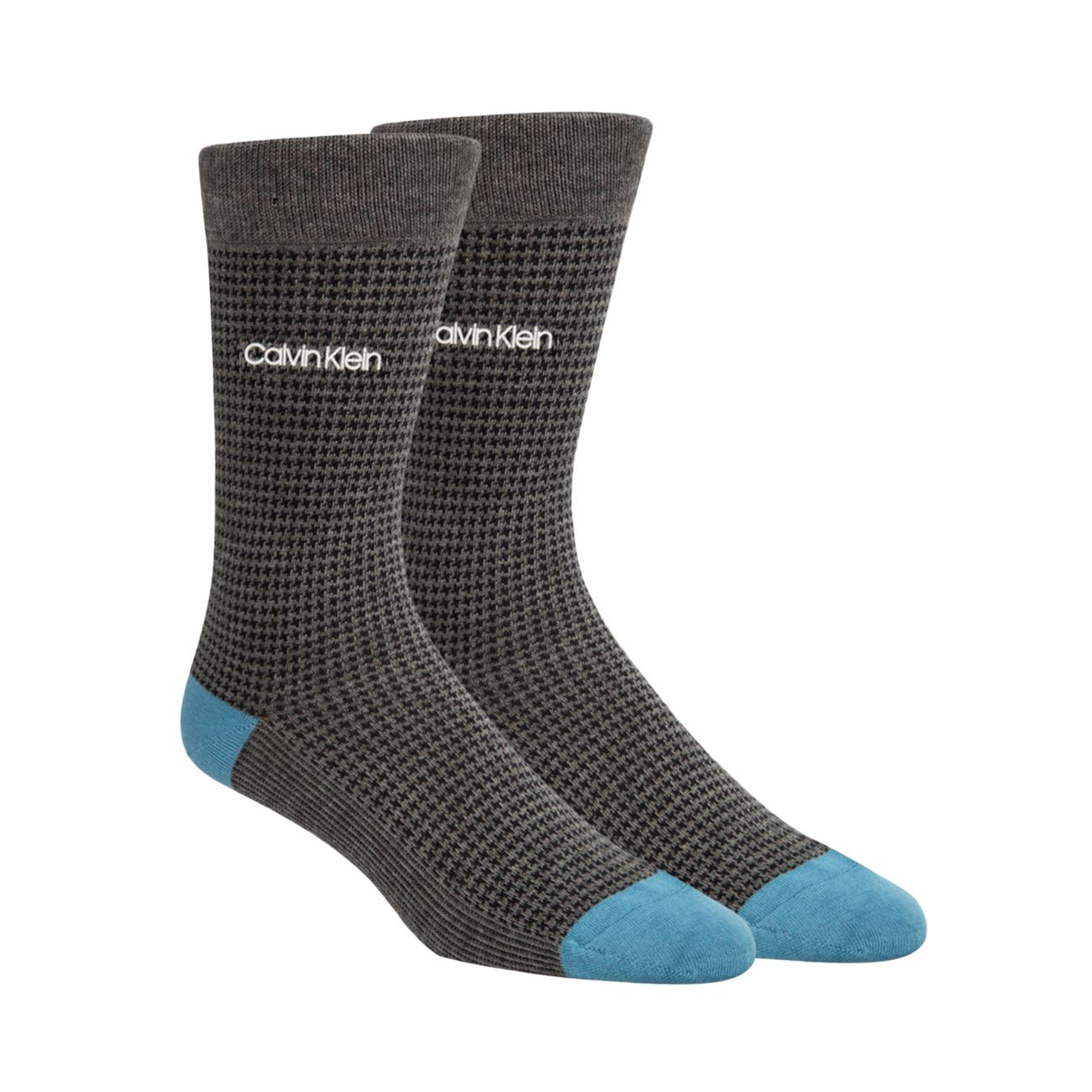 6fc603300e Calvin Klein Ανδρικές Κάλτσες Hounds Tooth Crew Μαύρο - Glami.gr