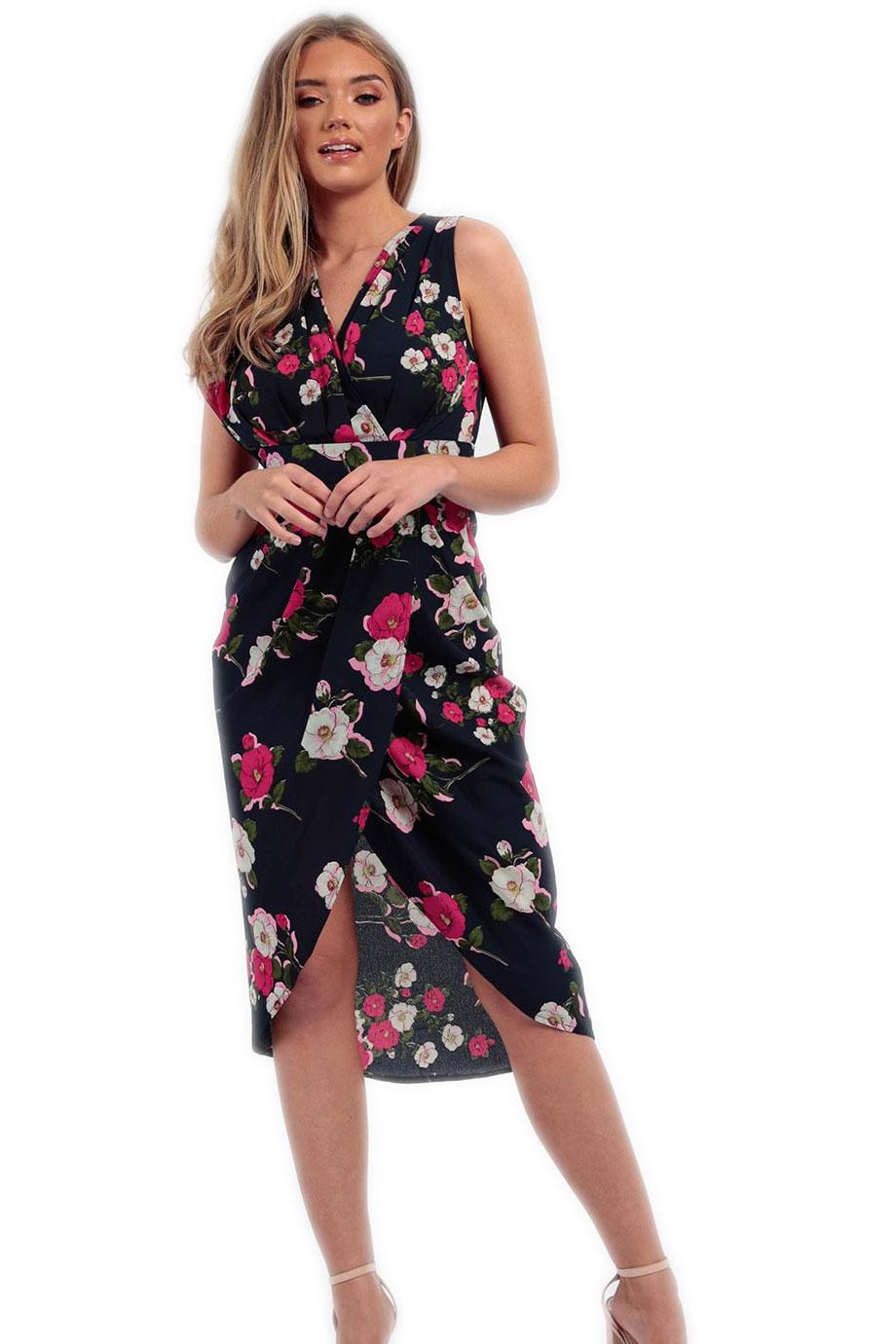 52177c49ca14 LIKEASTAR Μίντι κρουαζέ φόρεμα - Glami.gr