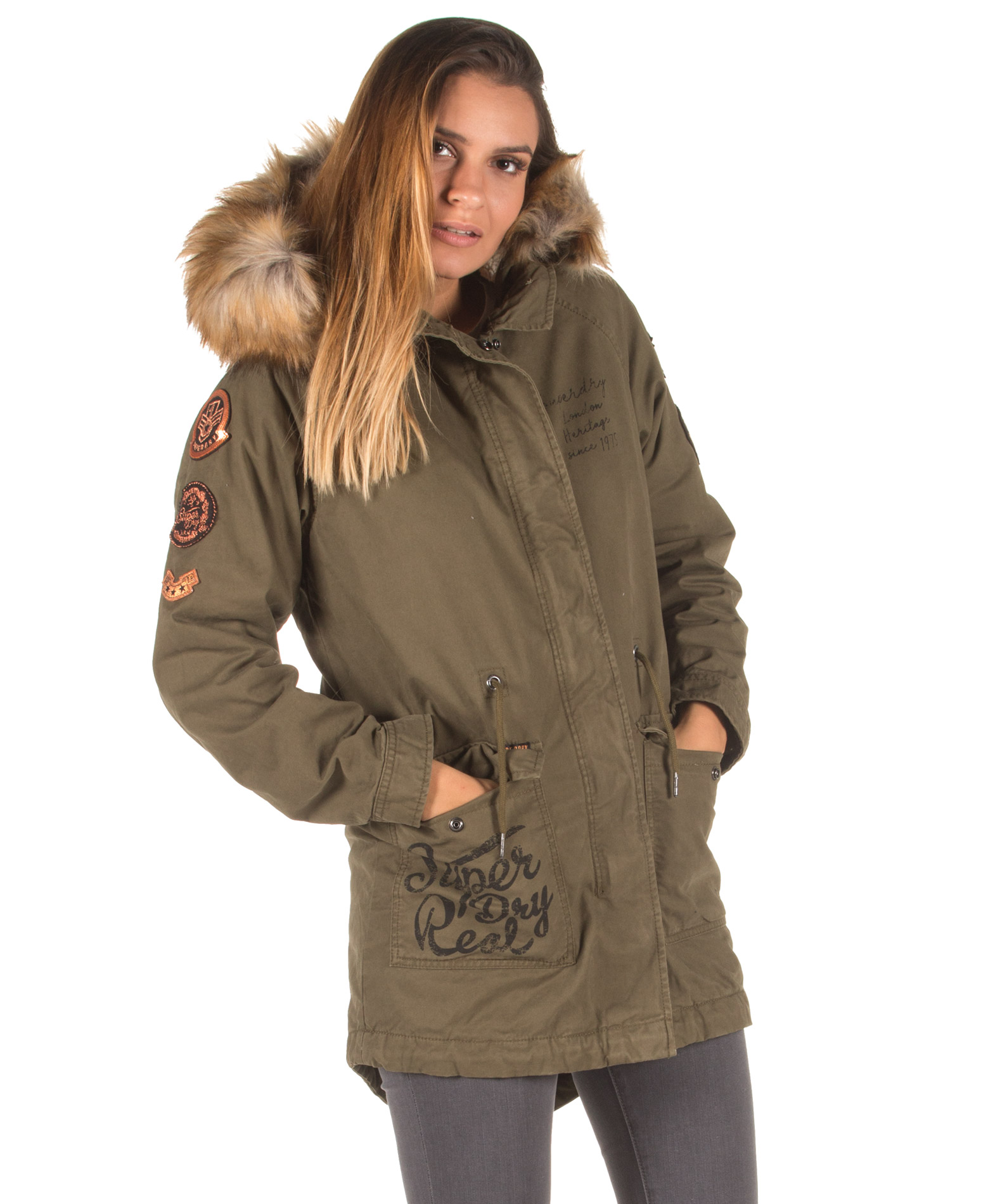 SUPERDRY ROOKIE HEAVY WEATHER G50001NR-03O Χακί - Glami.gr 013bc9ca26b