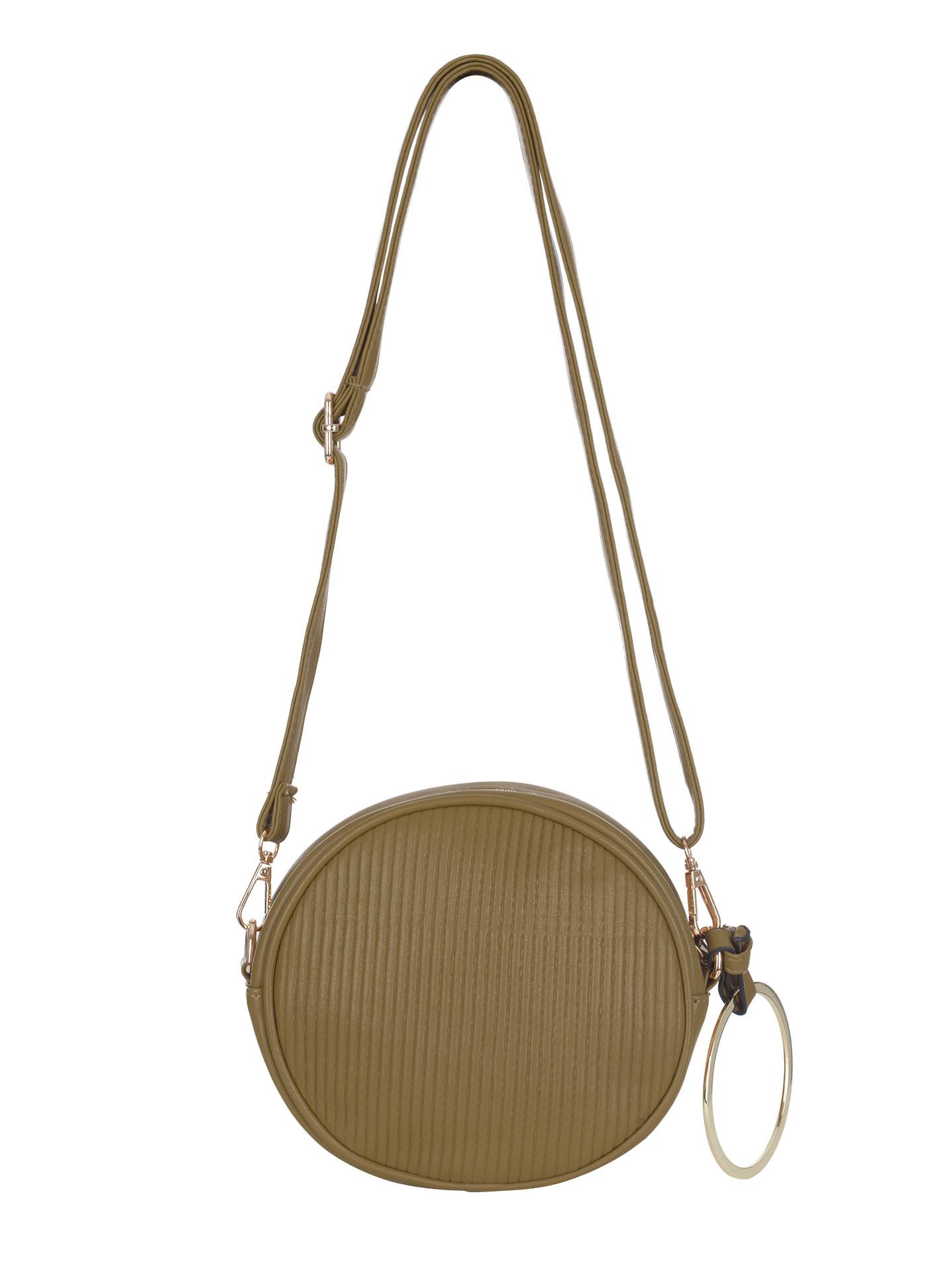 ... Στρογγυλή ανάγλυφη τσάντα με κρίκο WL1460.A775+6. -19%. Celestino ... a4a0e0f0227