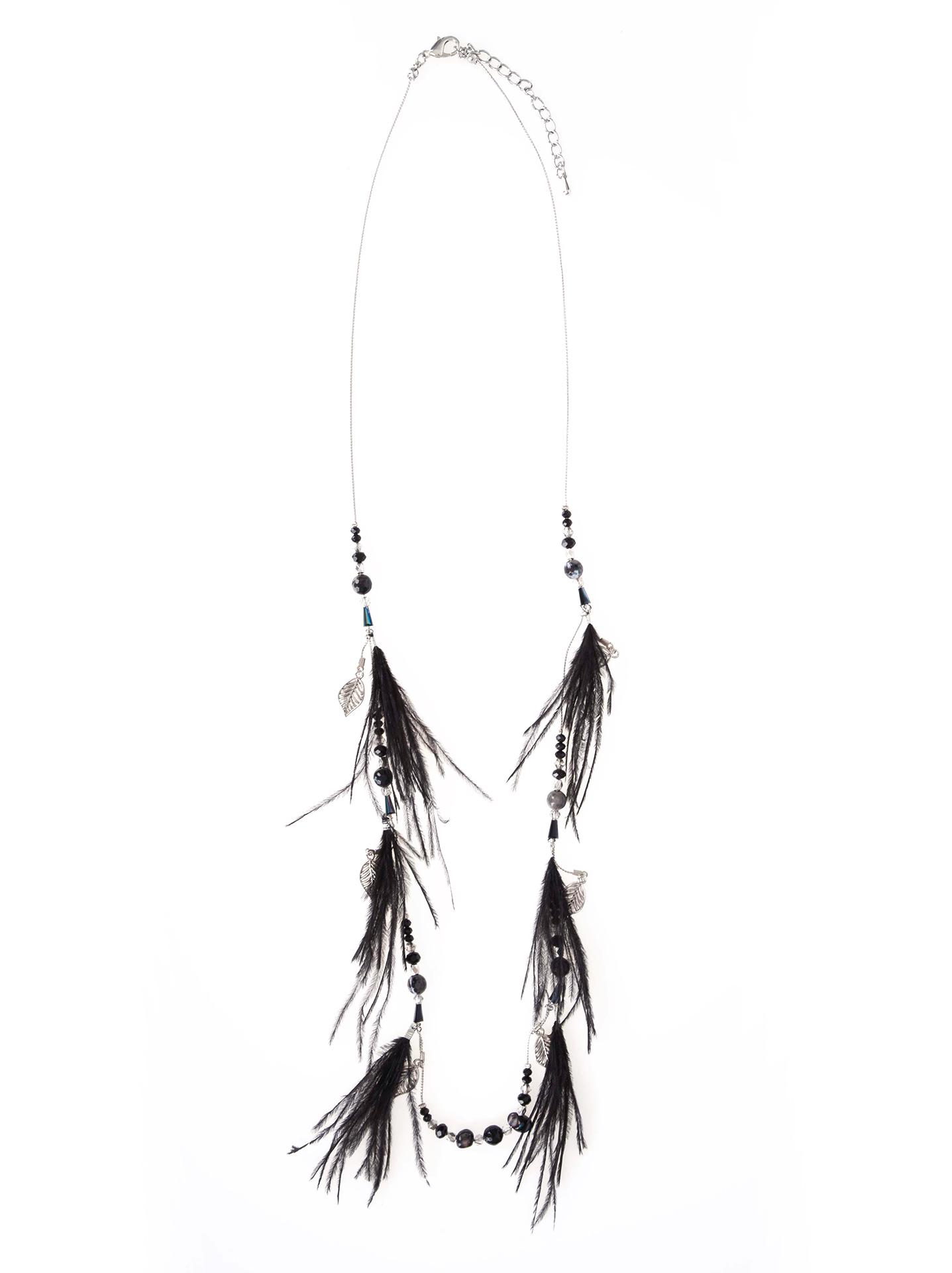 Celestino Μακρύ κολιέ με χάντρες και φτερά WL1615.A503+1 - Glami.gr 119f04f5d37