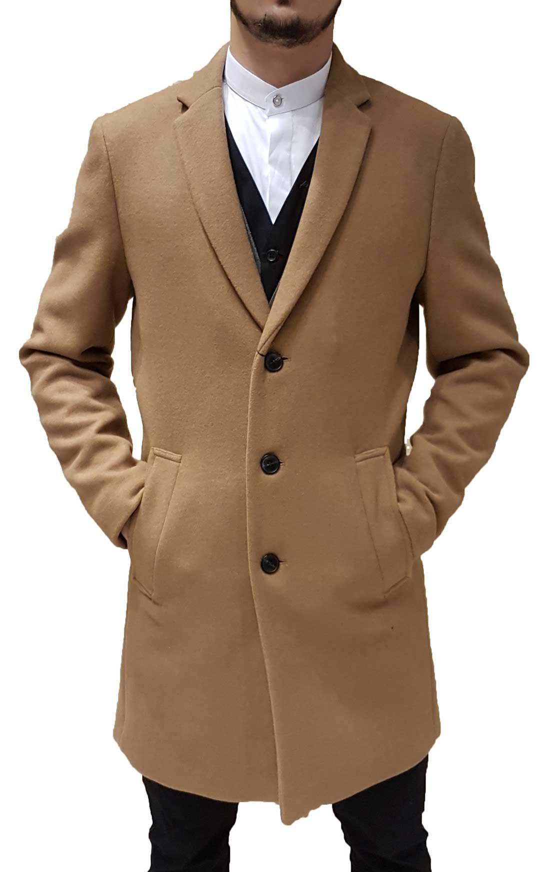 9676609249 Jack Jones - 12136816 - Jprmorten Wool Coat STS - Taba - Παλτό ...