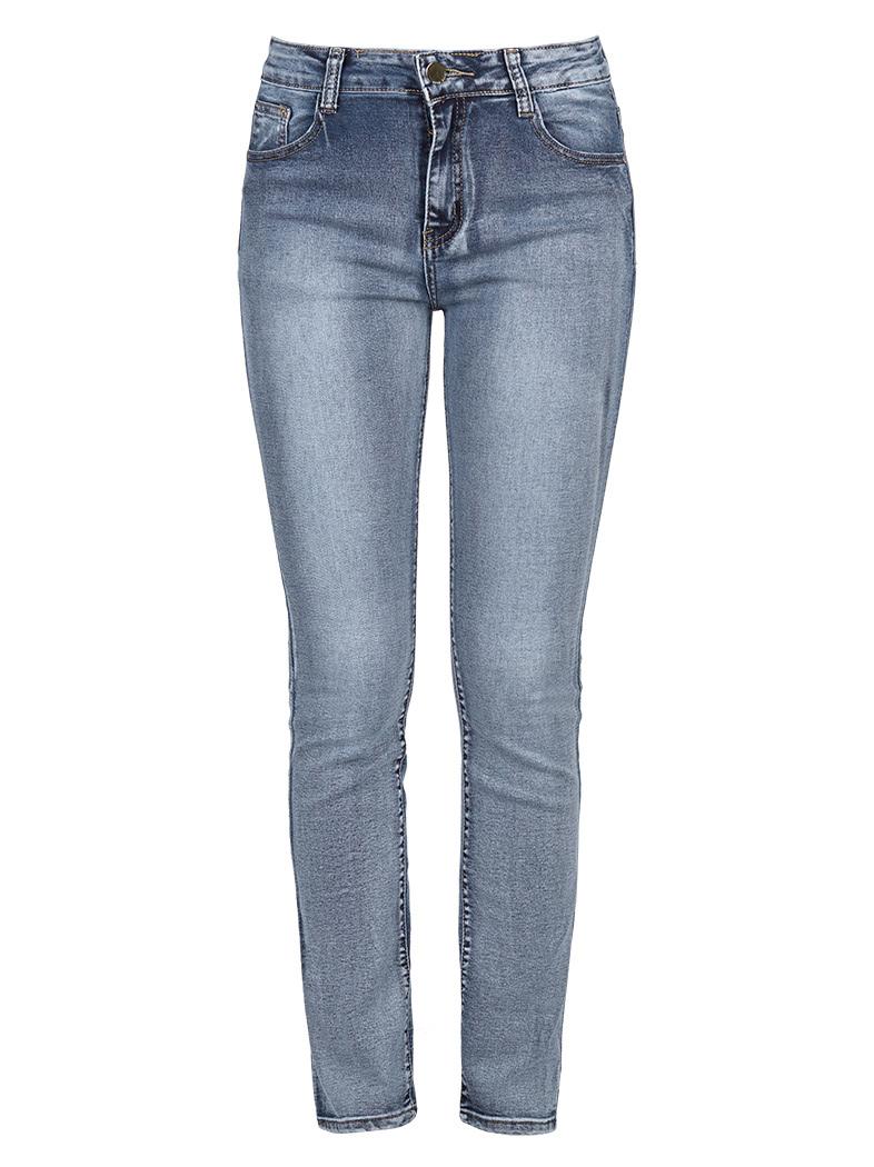 Celestino Ψηλόμεσο ξεβαμμένο τζιν παντελόνι σε ίσια γραμμή SD196.1752+1. 1 98a81ea0bc3