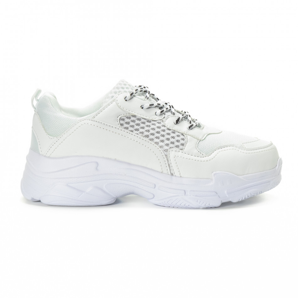 a40eb355d65 Kiss GoGo Ανδρικά λευκά αθλητικά παπούτσια All white