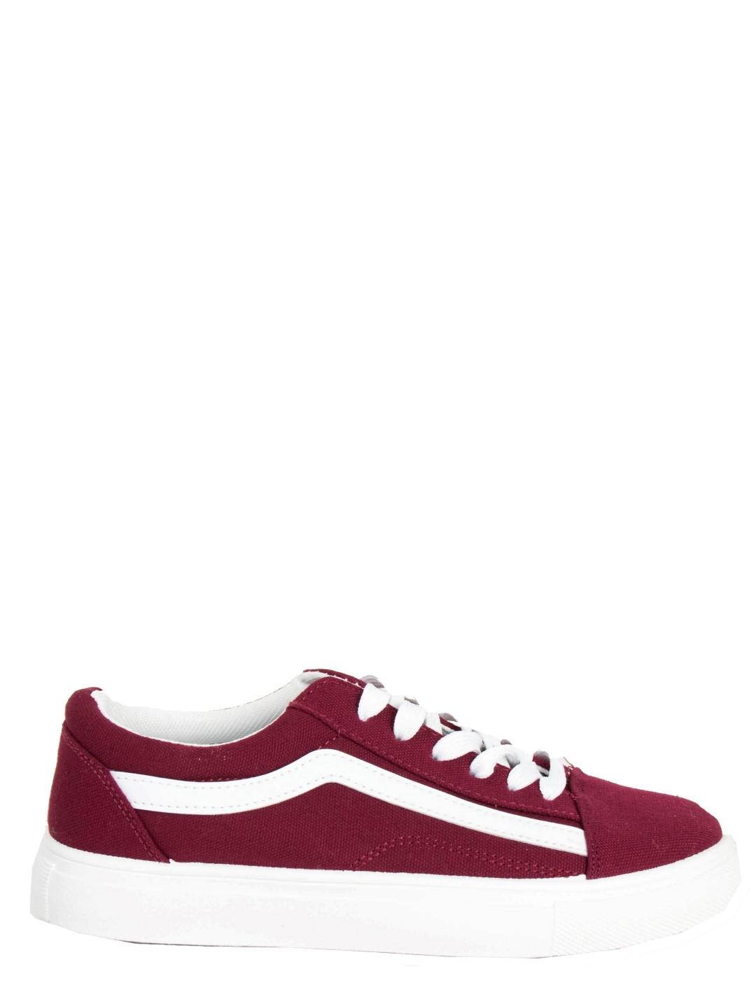 Huxley   Grace Γυναικεία μπορντό πάνινα Sneakers με διχρωμία M622Q. Huxley    Grace Γυναικεία μπορντό πάνινα Sneakers με διχρωμία M622Q 59d0fea51d6