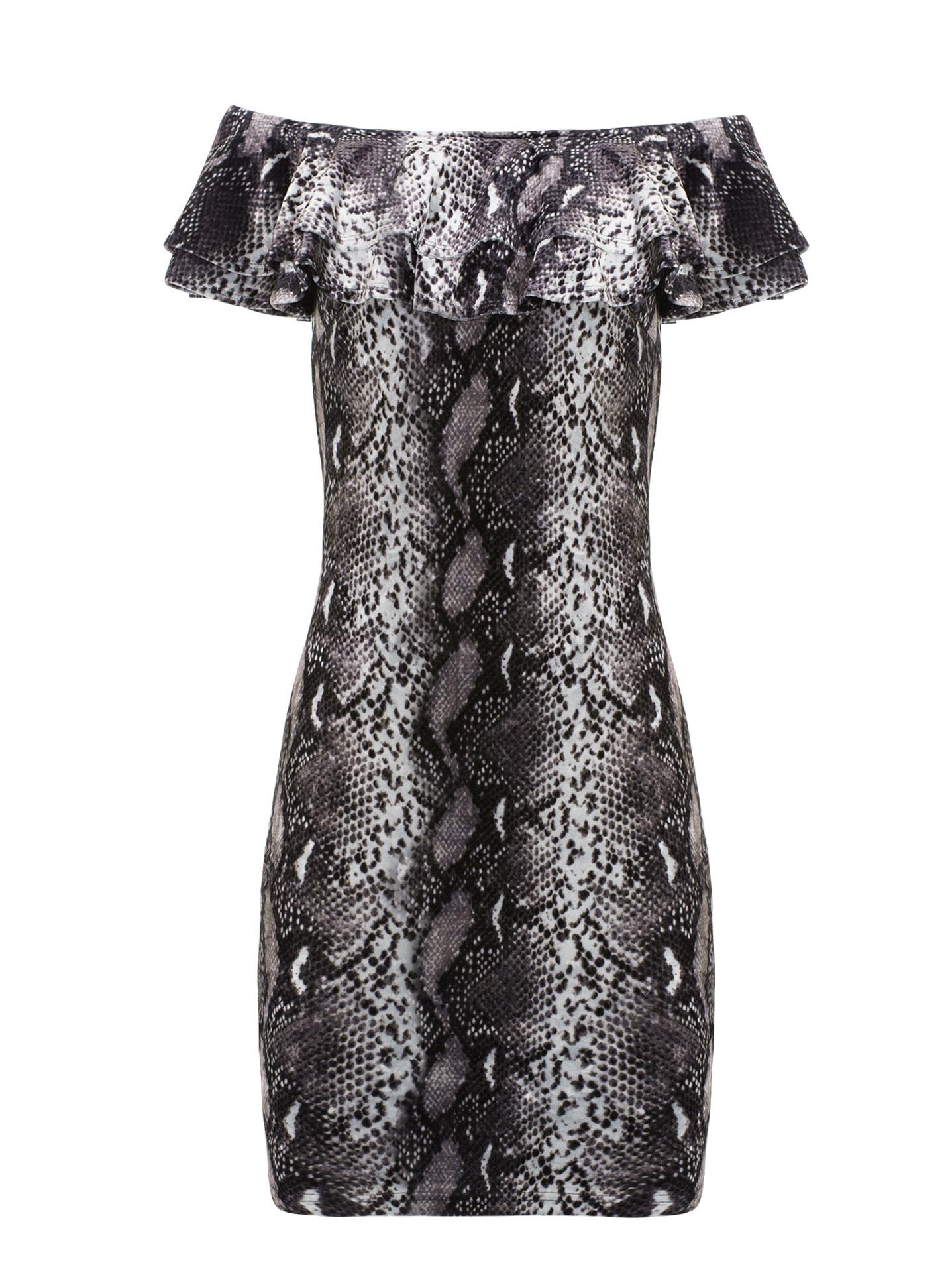 ea39b12e45cb Celestino Mini βελουτέ φόρεμα σε τύπωμα φίδι WL1249.8339+1 - Glami.gr