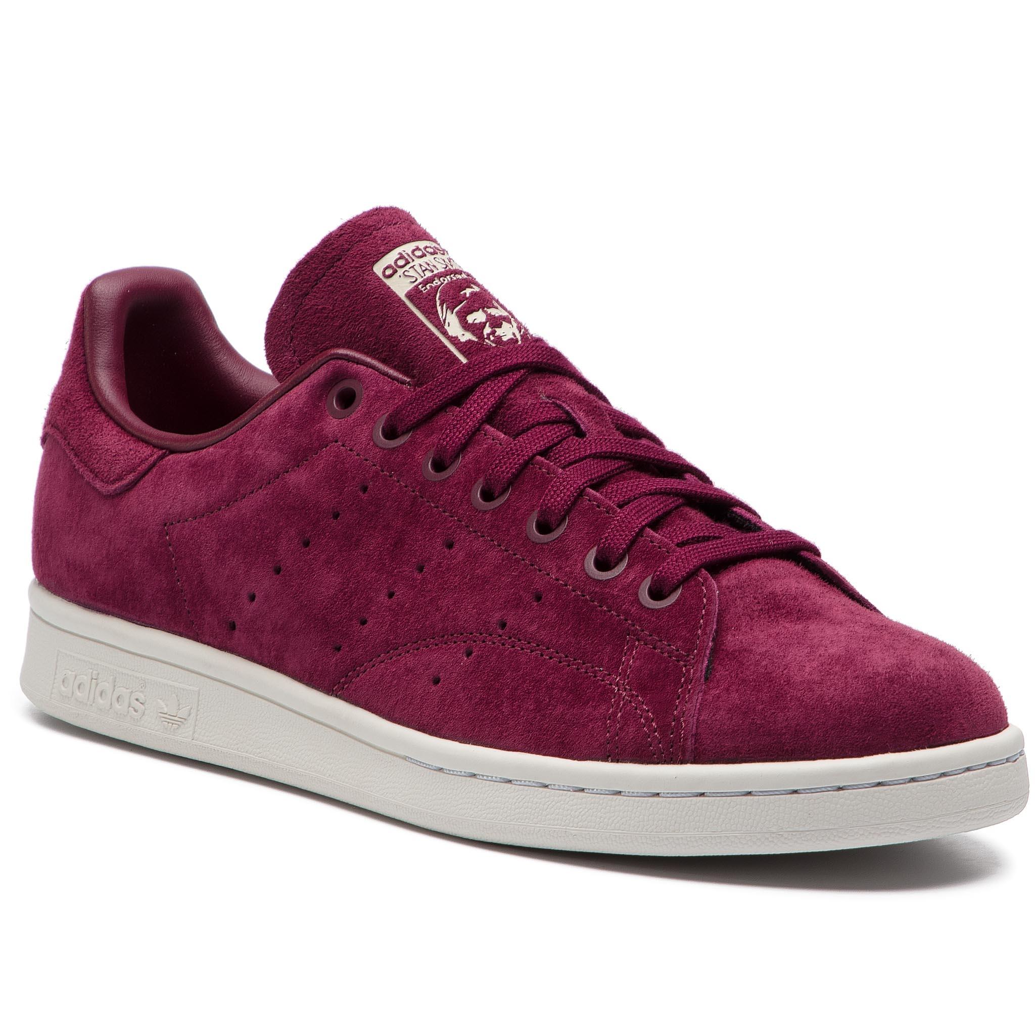 8bfe4a2cc5f Παπούτσια adidas - Stan Smith DB3569 Maroon/Crywht/Cbrown - Glami.gr