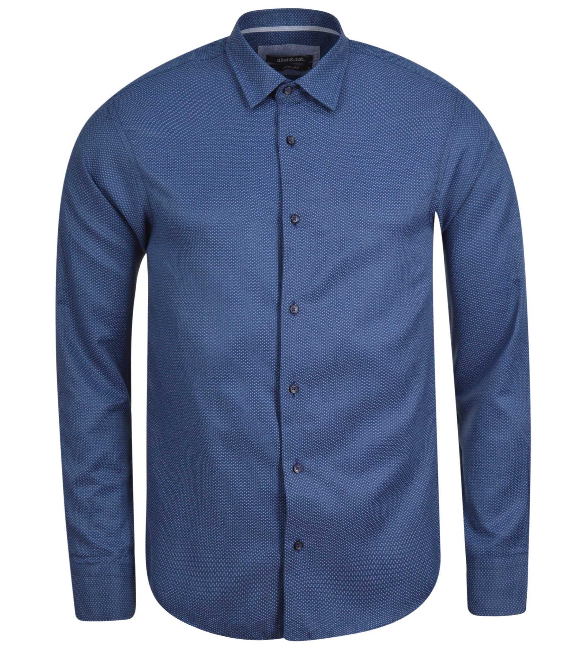 1c655a02d5d9 Ανδρικό πουκάμισο Dash Dot 08404-2 - Glami.gr