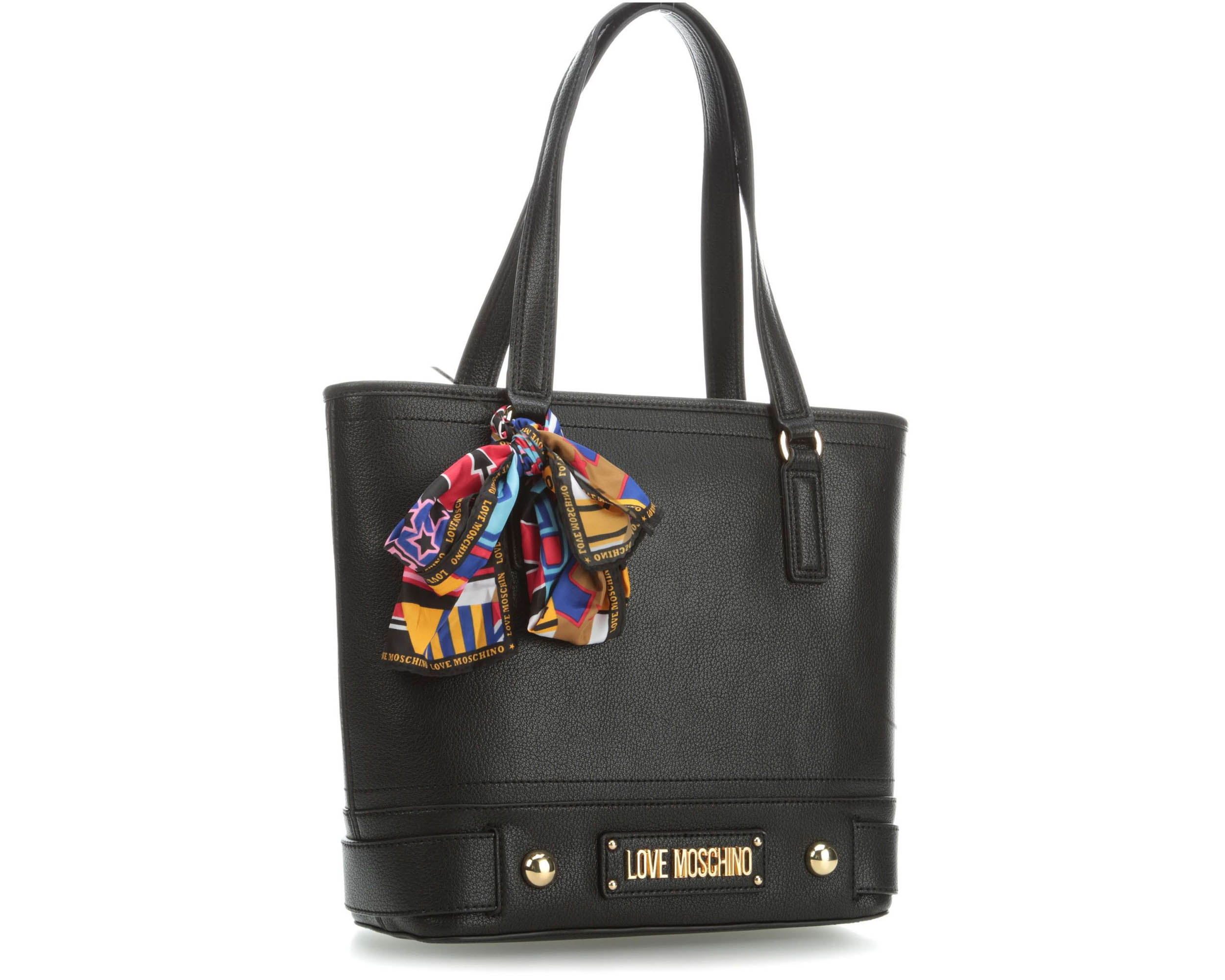 625133bd94 Love Moschino Τσάντα Shoulder Bag JC4034PP17LD0000 Grain Black ...