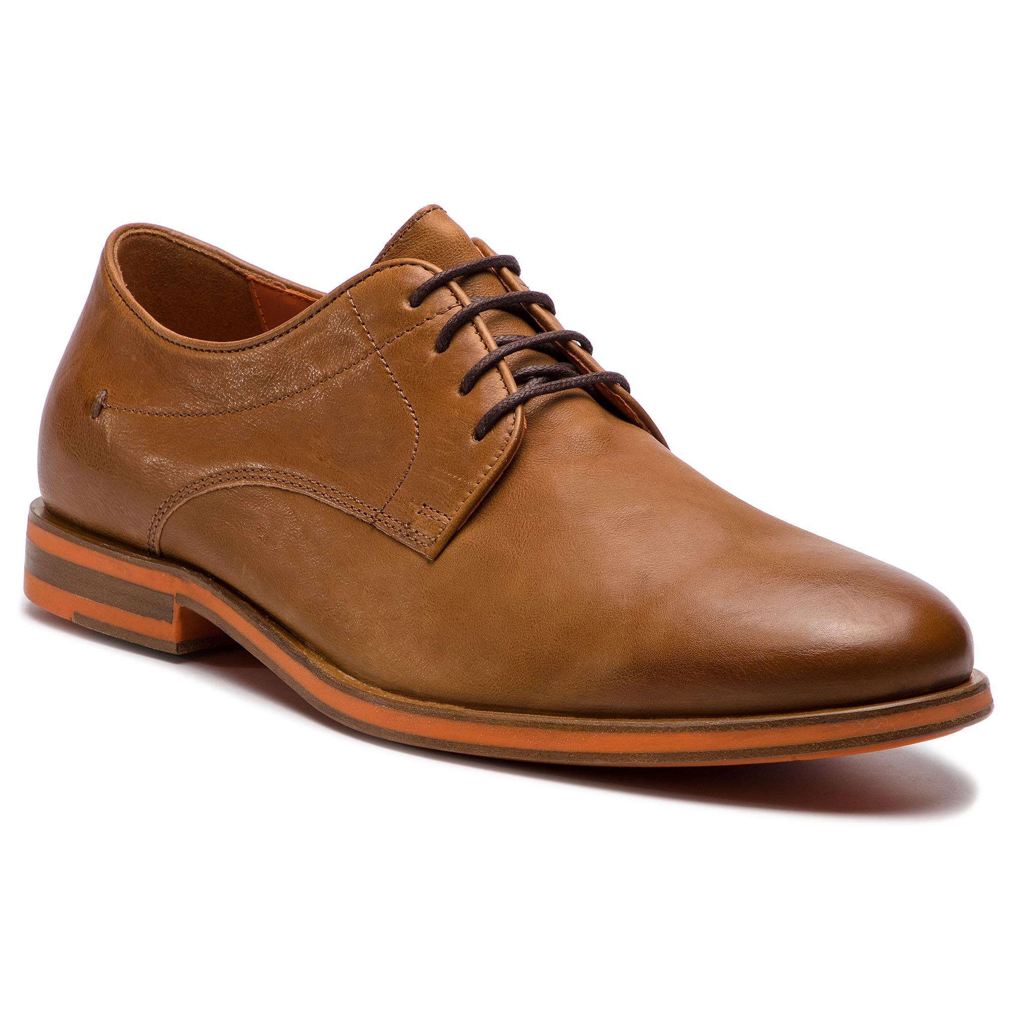 59649b60ded Κλειστά παπούτσια GEOX - U Bayle B U927CB 0003C C6001 Cognac - Glami.gr