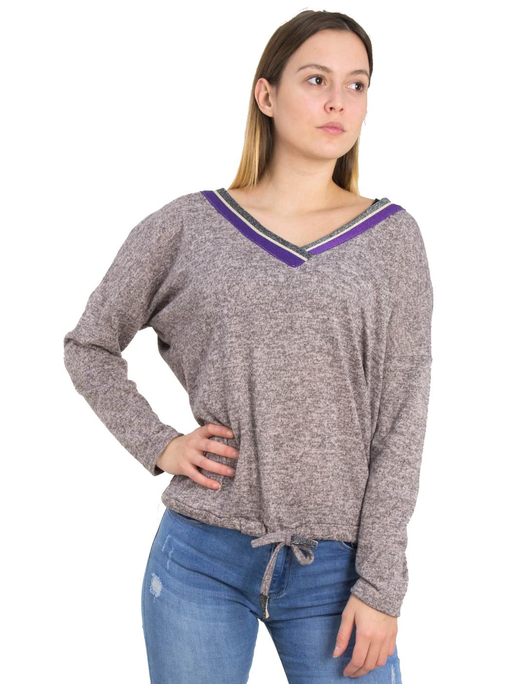 96c0a80f3ff1 Γυναικεία ροζ μακρυμάνικη μπλούζα Ve Benissimo 39479L - Glami.gr