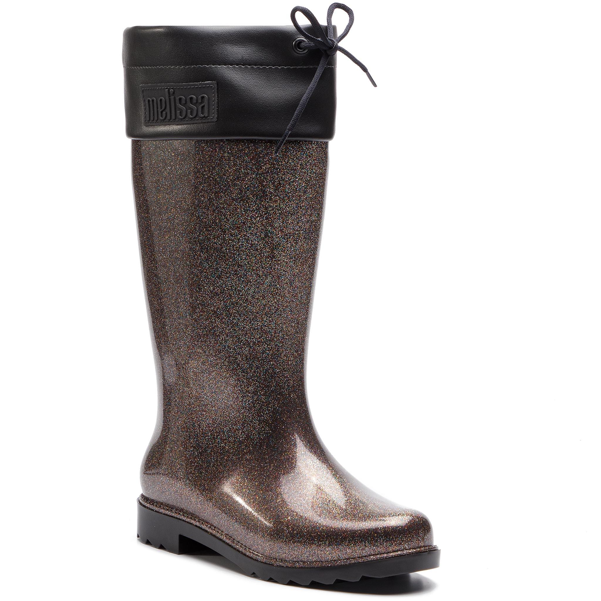 dd546e86c6d7 ... MELISSA - Rain Boot Ad 32422 Black Glitter 52324. -20%. Γαλότσες ...