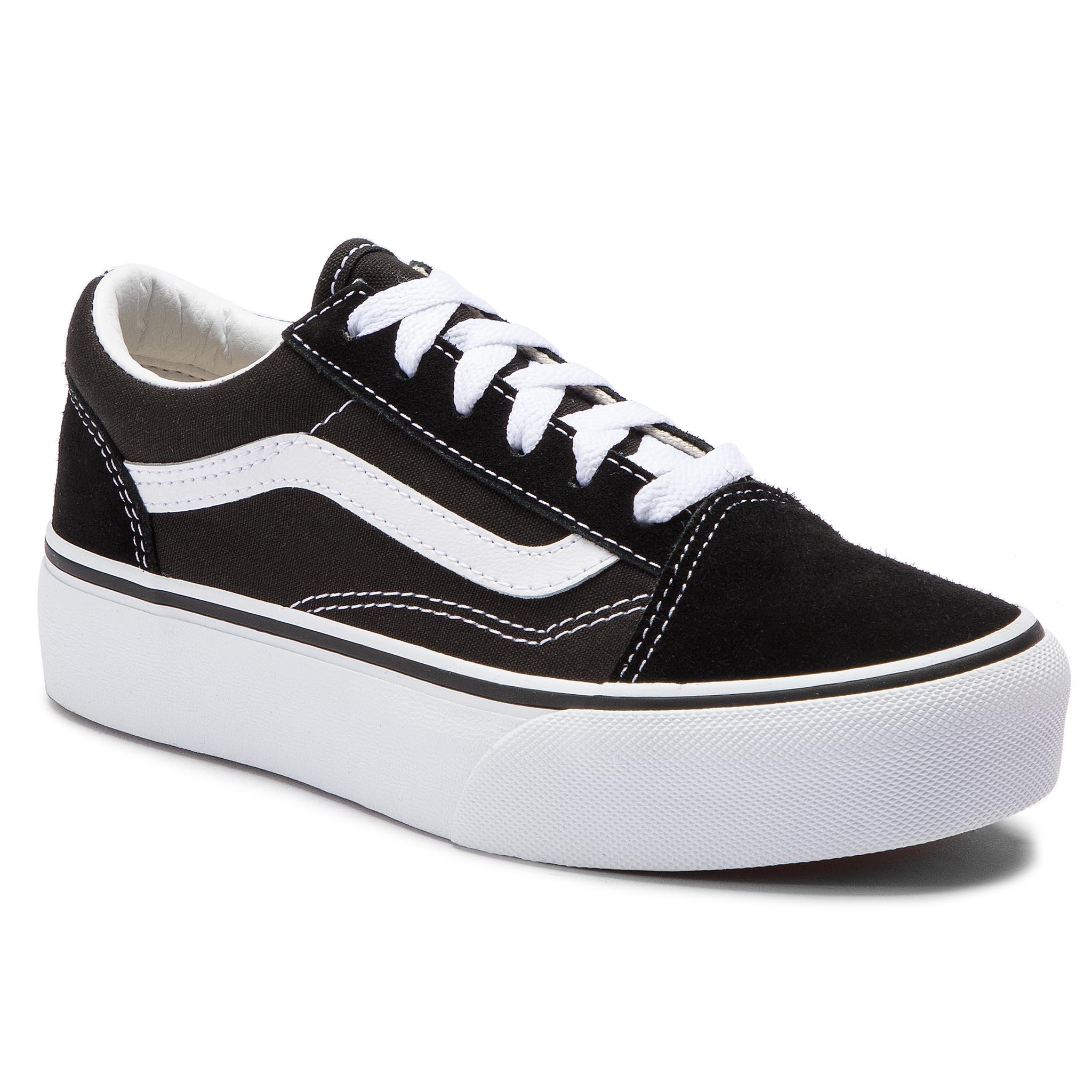 fb29a2764c6 Πάνινα παπούτσια VANS - Old Skool Platfor VN0A3TL36BT1 Black/True White