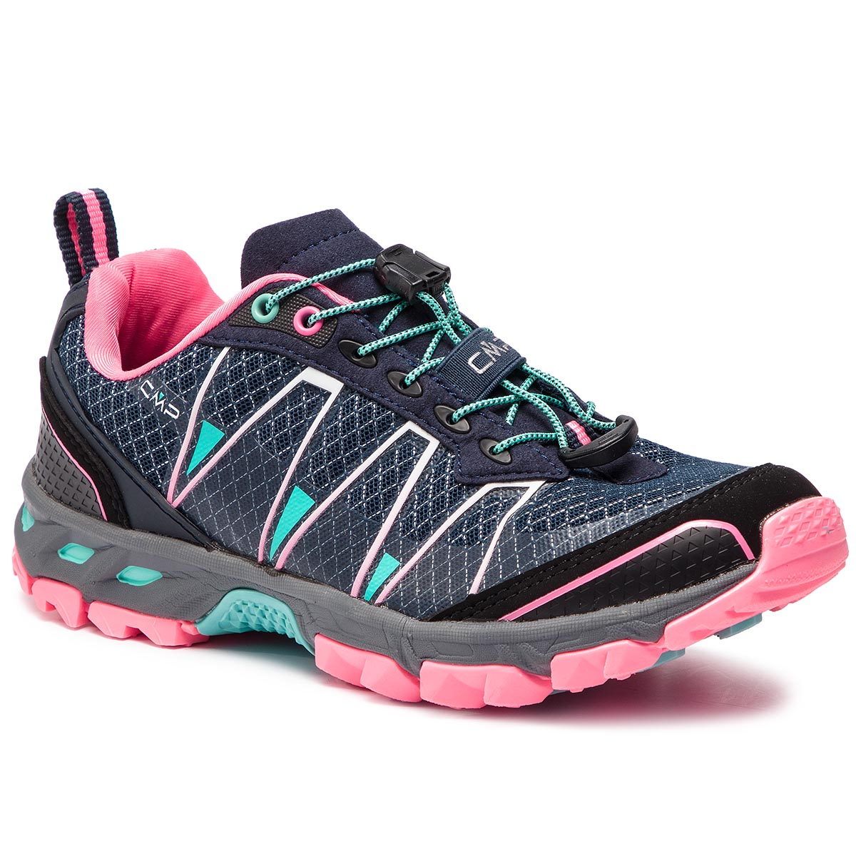 3bfc2968efd Μποτάκια πεζοπορίας CMP - Altak Wmn Trail Shoes 3Q95266 Navy/Pink ...