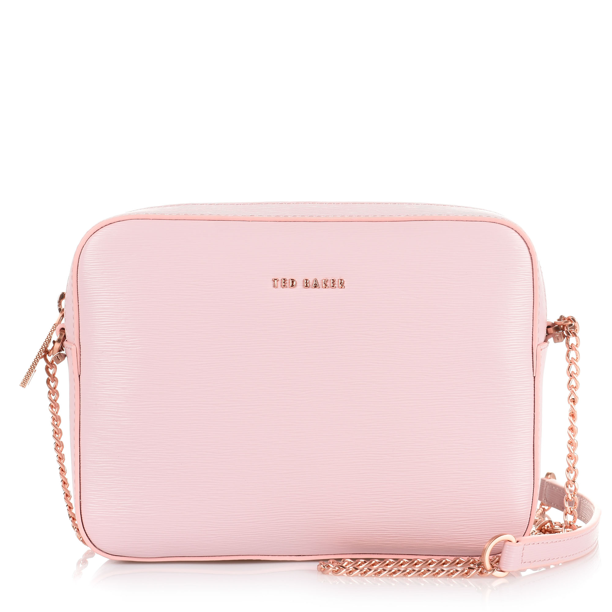 958eed173f Δερμάτινο Τσαντάκι Ώμου-Χιαστί Ted Baker Leather Xbody Camera Bag ...