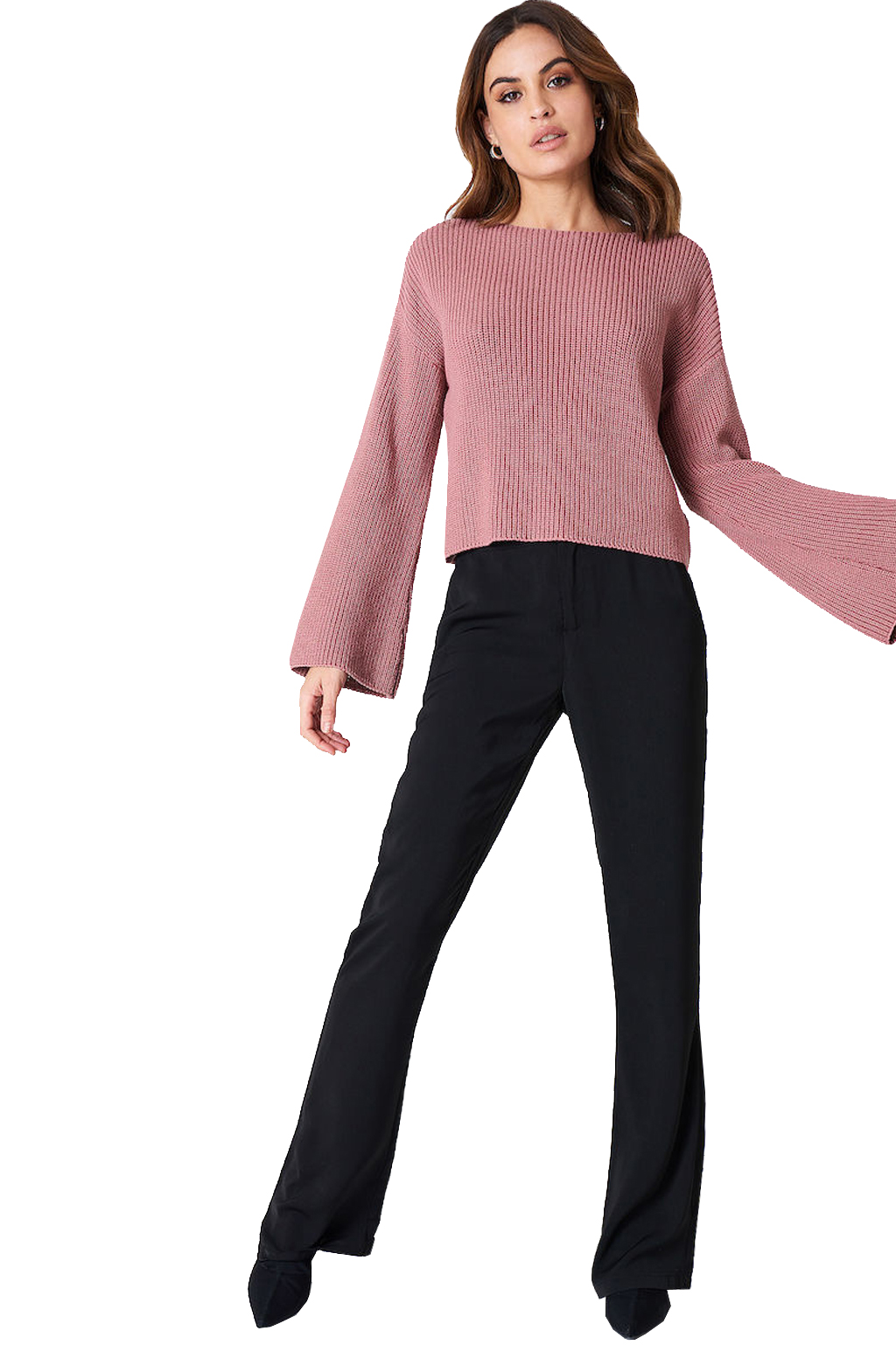 bdfce0539f74 NA-KD CROPPED LONG SLEEVE KNITTED ΠΛΕΚΤΟ ΓΥΝΑΙΚΕΙΟ 1100-000413 ...