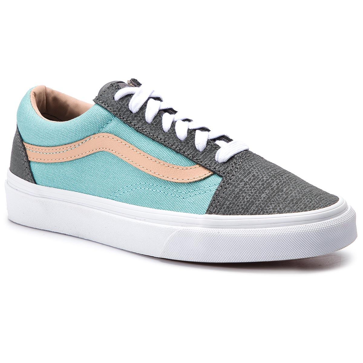e5408e5f332 Πάνινα παπούτσια VANS - Old Skool VN0A38G1VMM1 (Textured Suede) Pewter/A