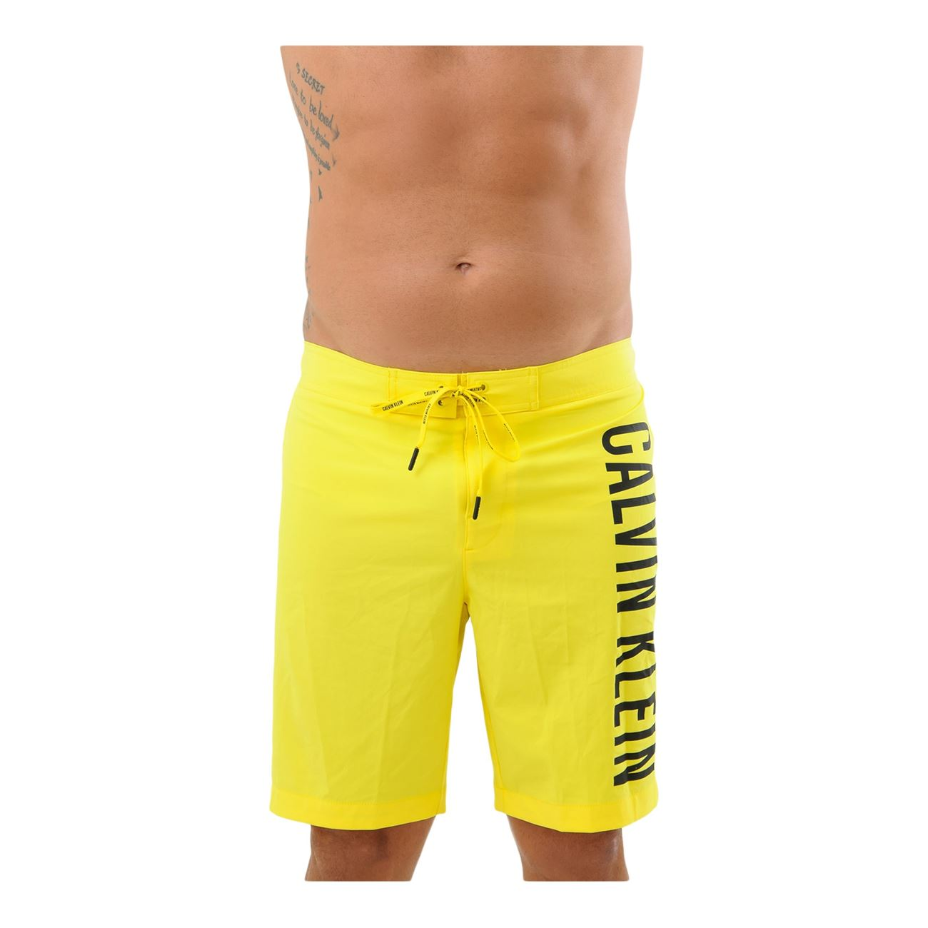 27177631c69 Calvin Klein Ανδρικό Μαγιό Βερμούδα 19 Boardshort Κίτρινο