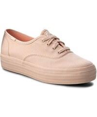 8cc66137ace38 Πάνινα παπούτσια KEDS - Triple Mono Pale WF56548 Peach