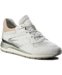892bc39c6a8 Geox D84APA 00046 C1000 Rubidia tumb leather White sneakers - Glami.gr