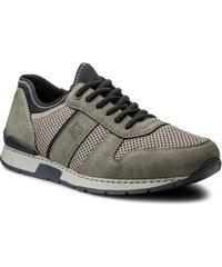 Κλειστά παπούτσια RIEKER - 19400-41 Grey e502aab78af