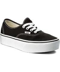 5652aeb0b9 Πάνινα παπούτσια VANS - Authentic Platform VN0A3AV8BLK Black