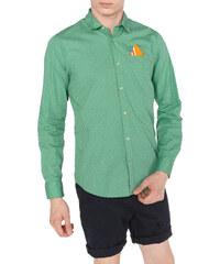 Men Scotch   Soda Shirt Green 5c0a22dc517