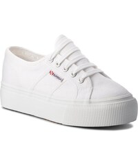 aae5784a983 Πάνινα παπούτσια SUPERGA - 2790 Acotw Linea Up And Down S0001L0 White 901